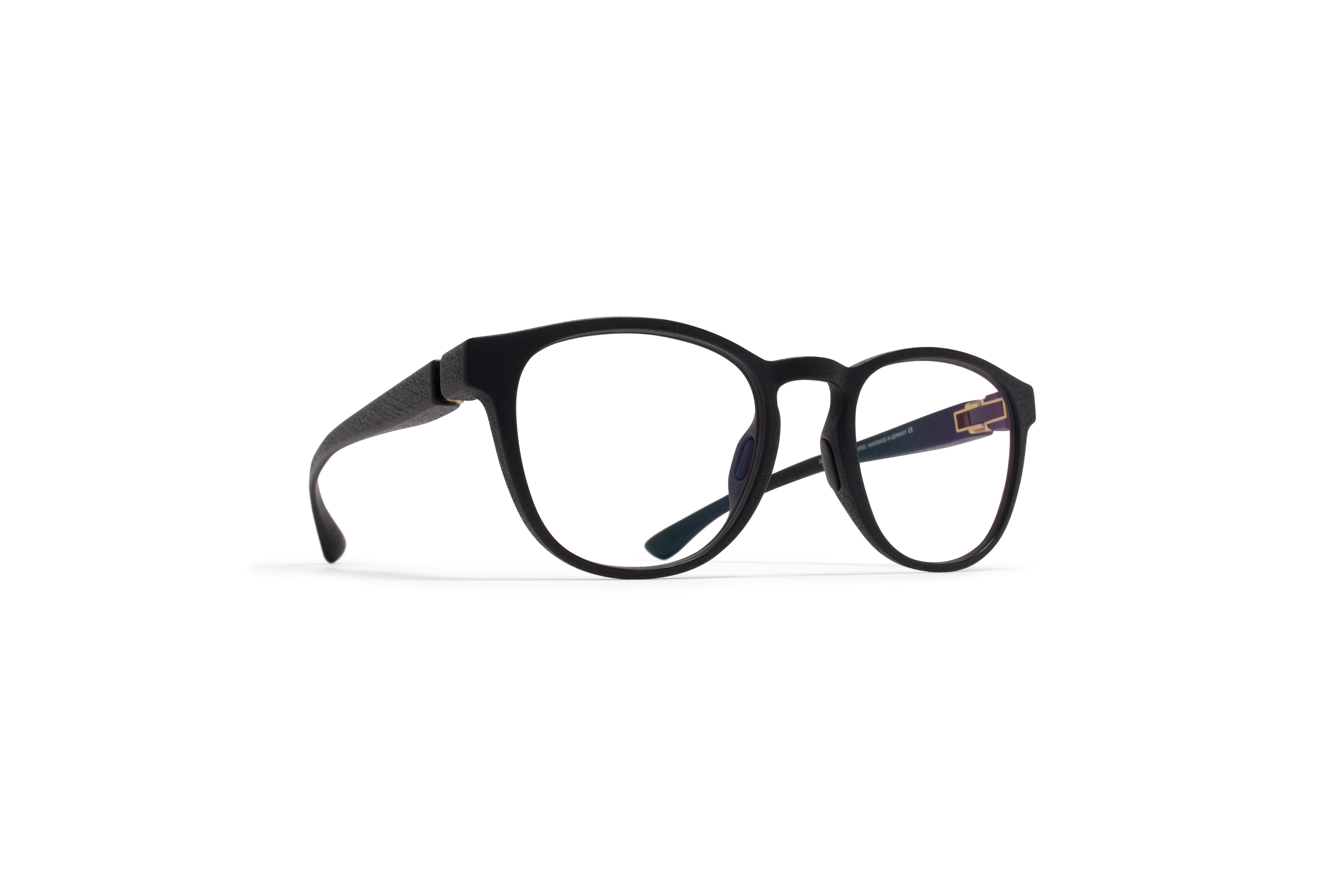 MYKITA Mylon Rx Poti Md1 Pitch Black Clear