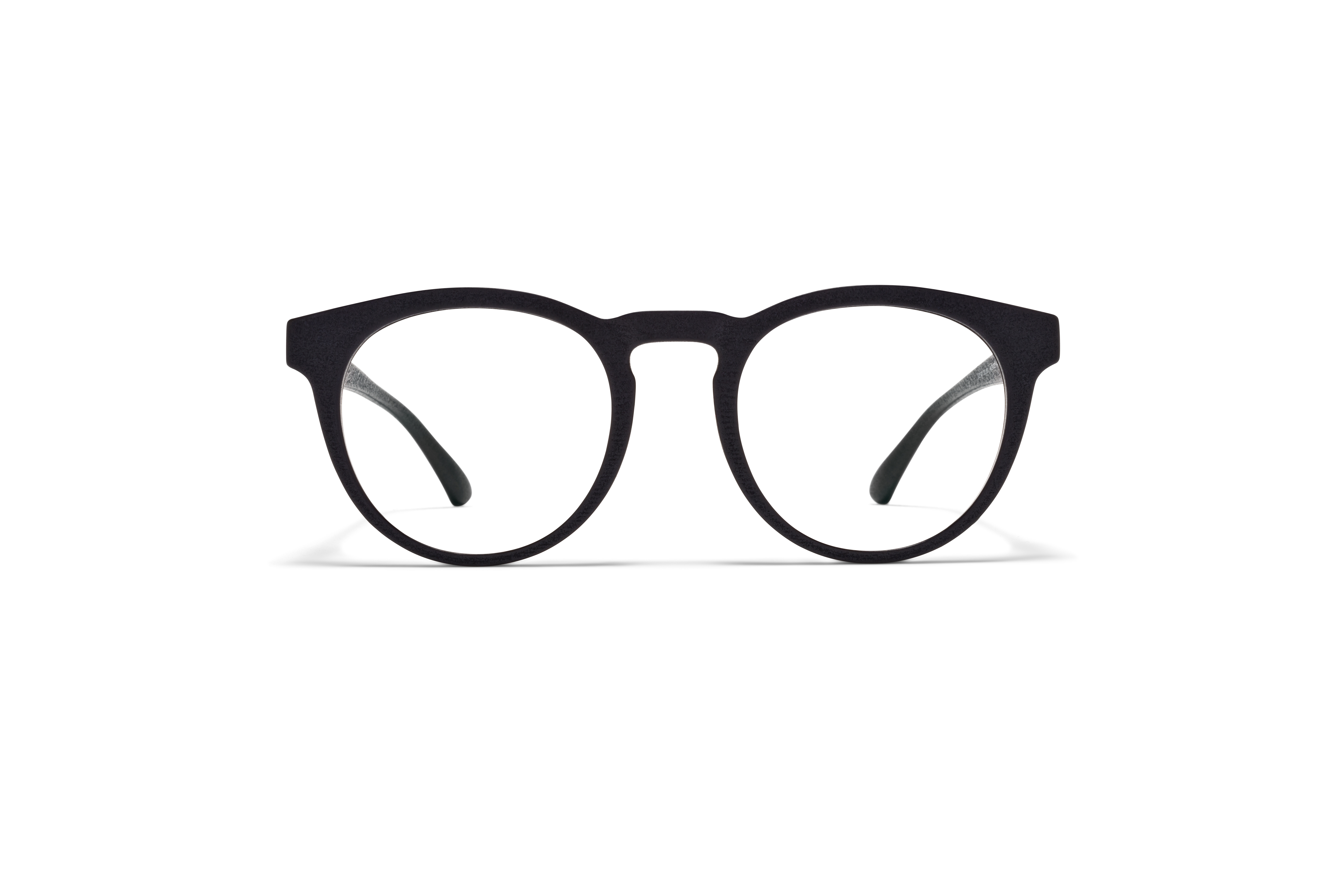 MYKITA Mylon Rx Pow Md1 Pitch Black Clear