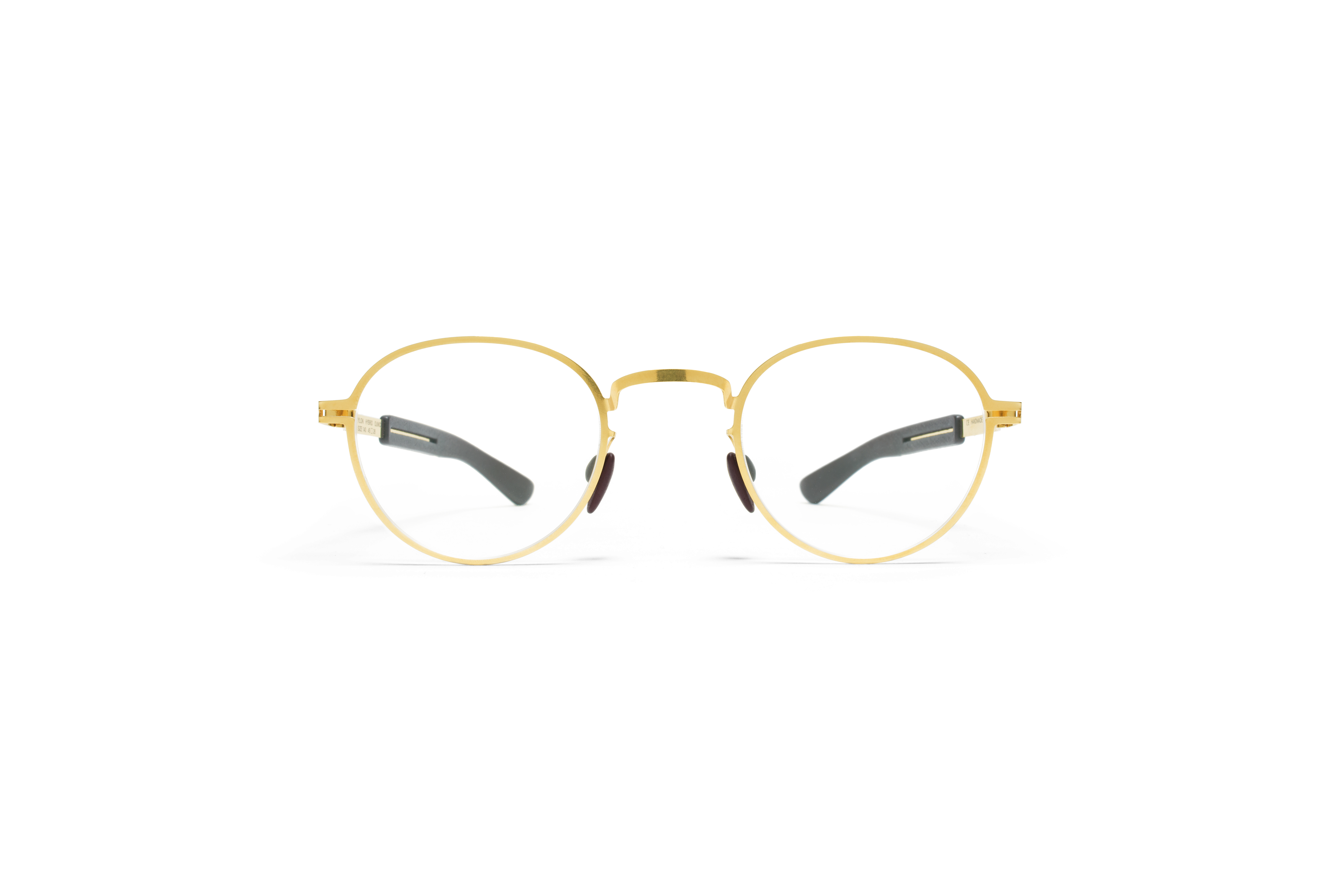 MYKITA Mylon Rx Quince Mh2 Gold Ebony Brown Clear562e2396a2f30