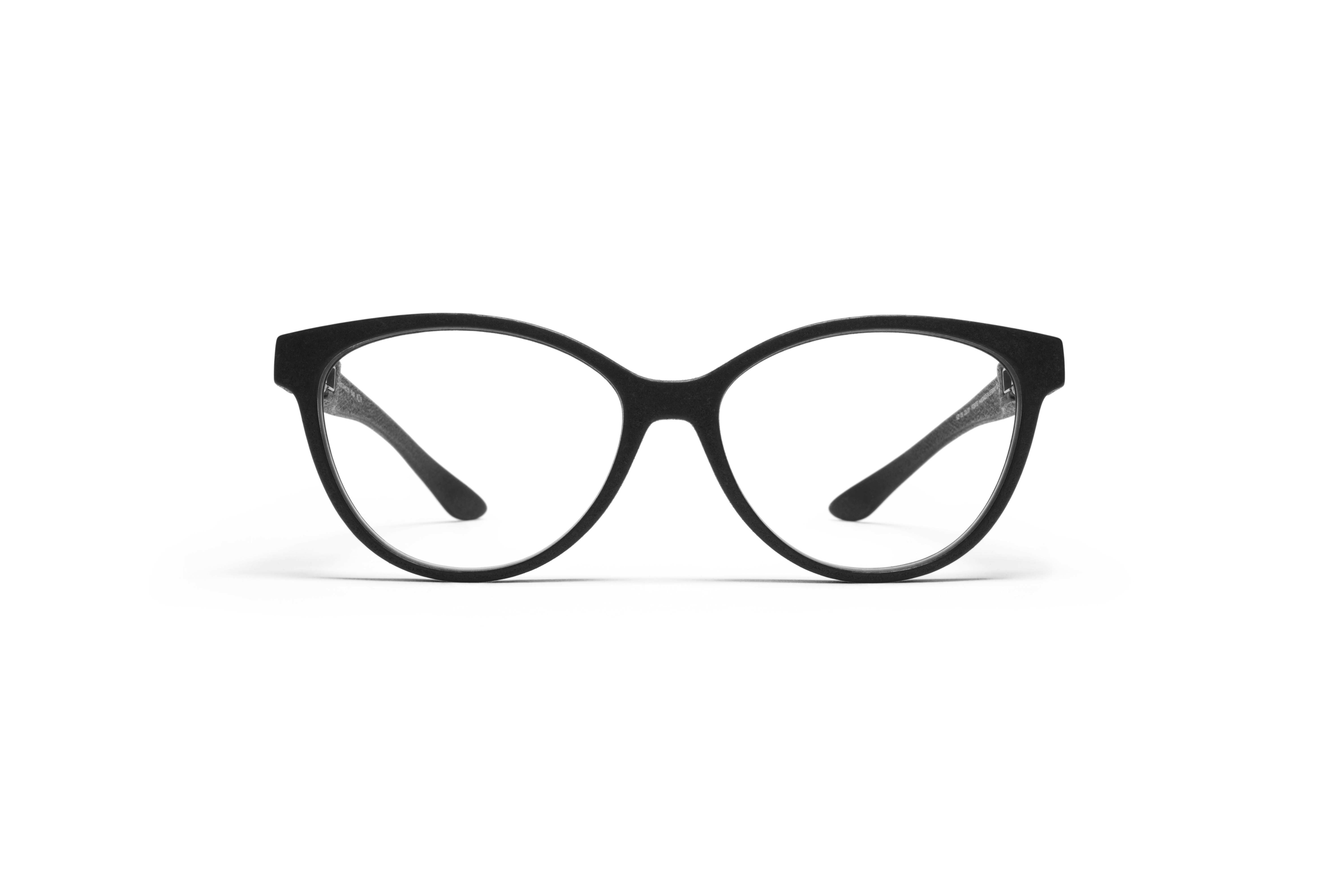 MYKITA Mylon Rx Rana Md1 Pitch Black Clear