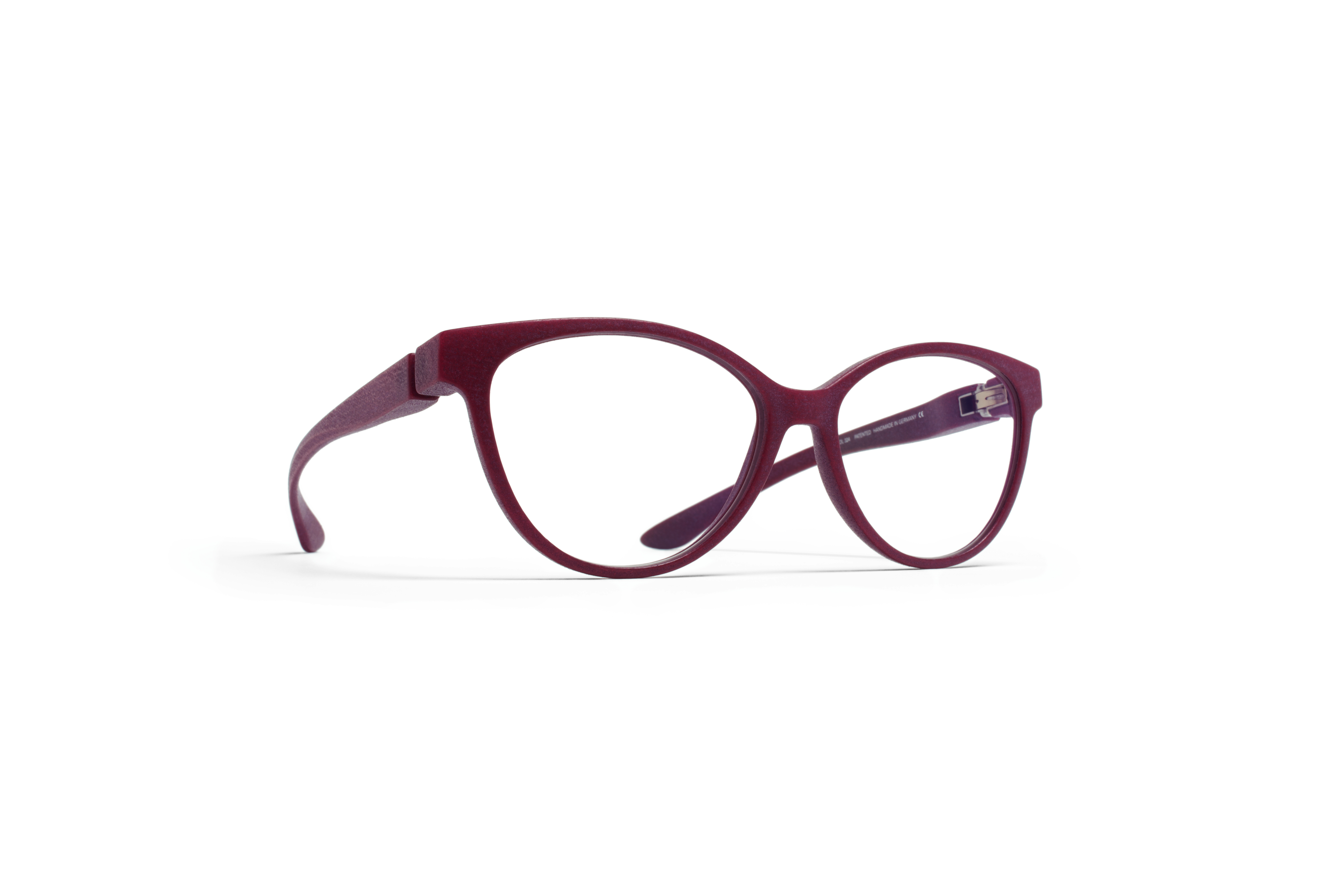 MYKITA Mylon Rx Rana Md24 New Aubergine Clear