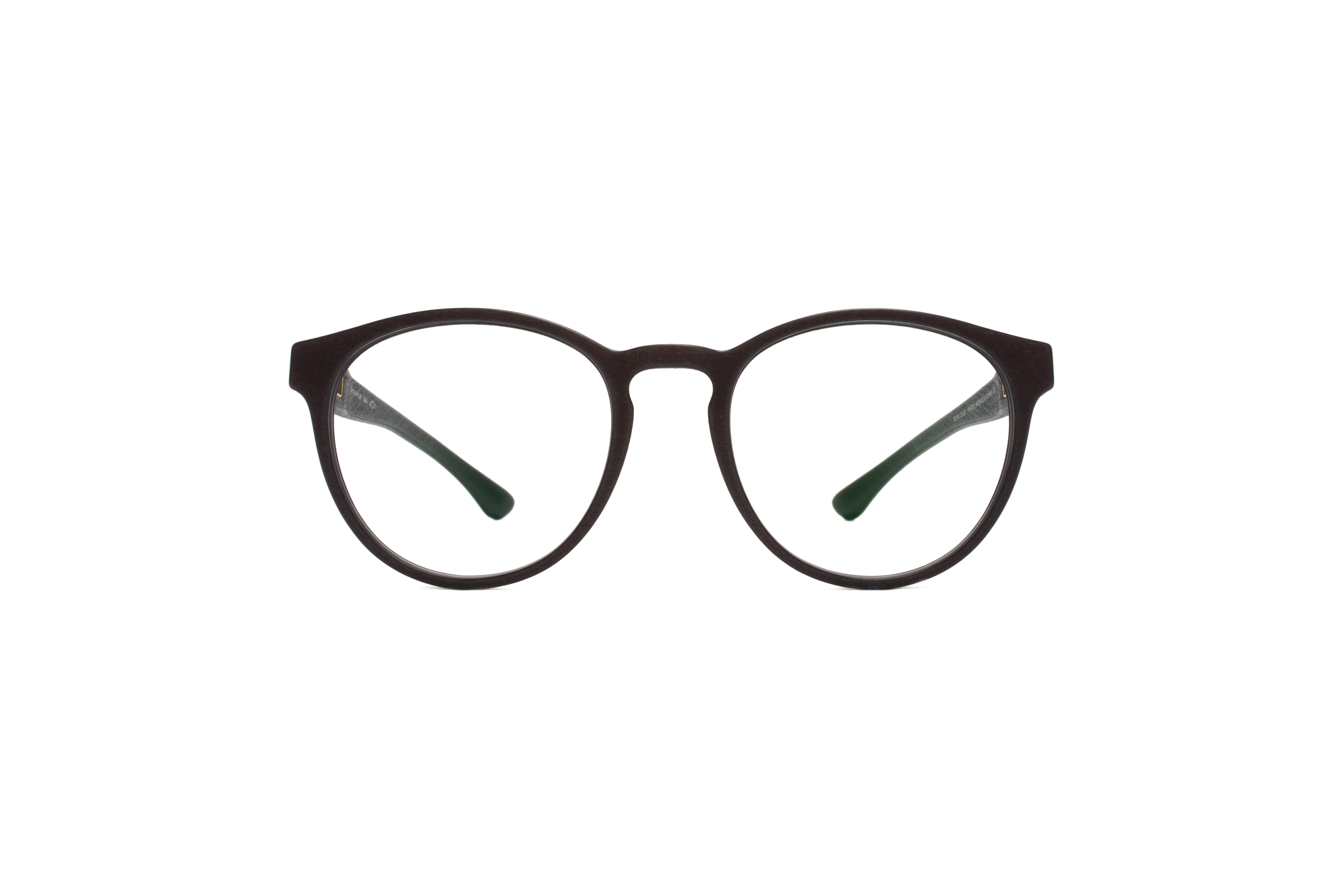 MYKITA Mylon Rx Saba Md22 Ebony Brown Clear