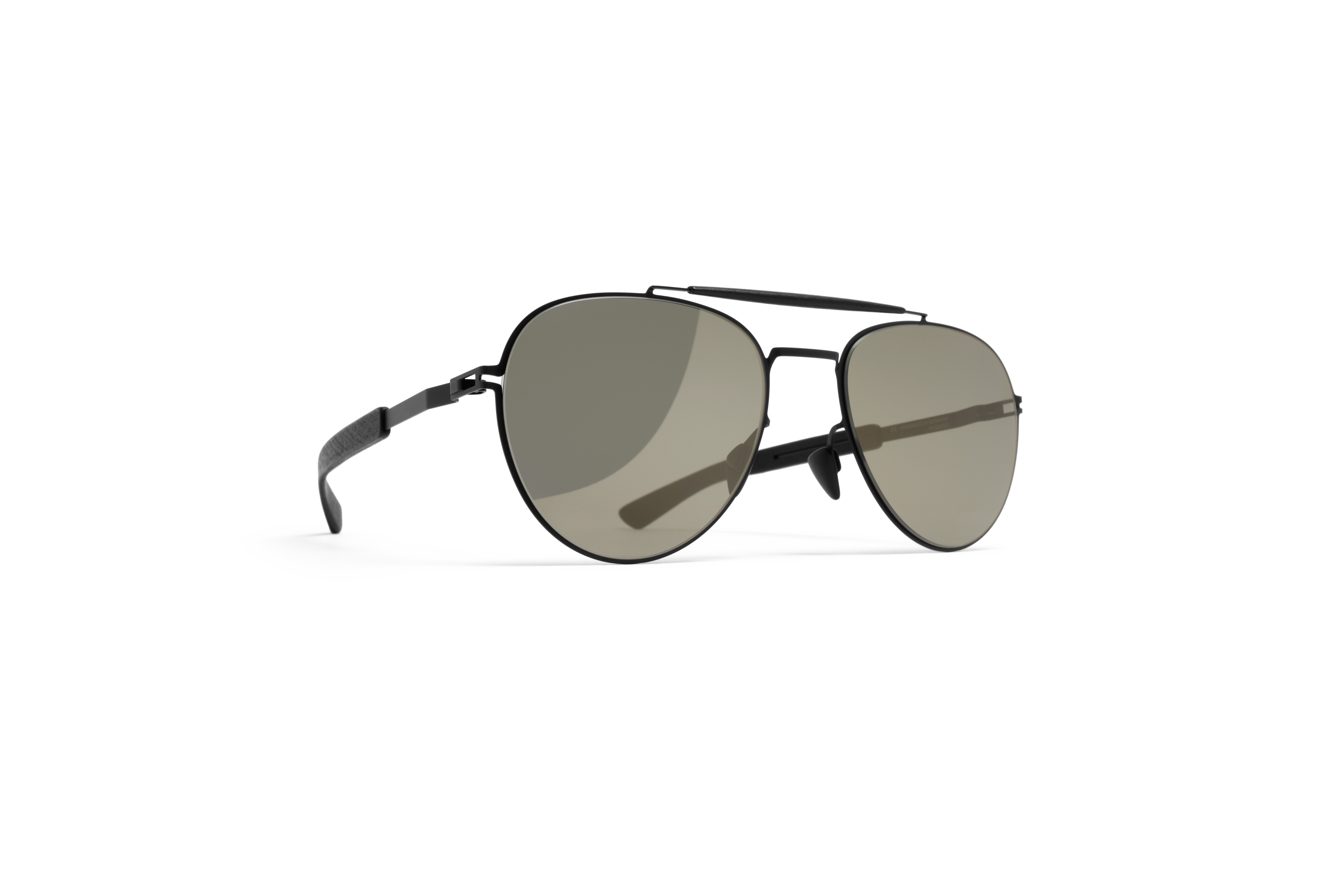 MYKITA Mylon Rx Sloe Mh1 Black Pitch Black Gunmeta