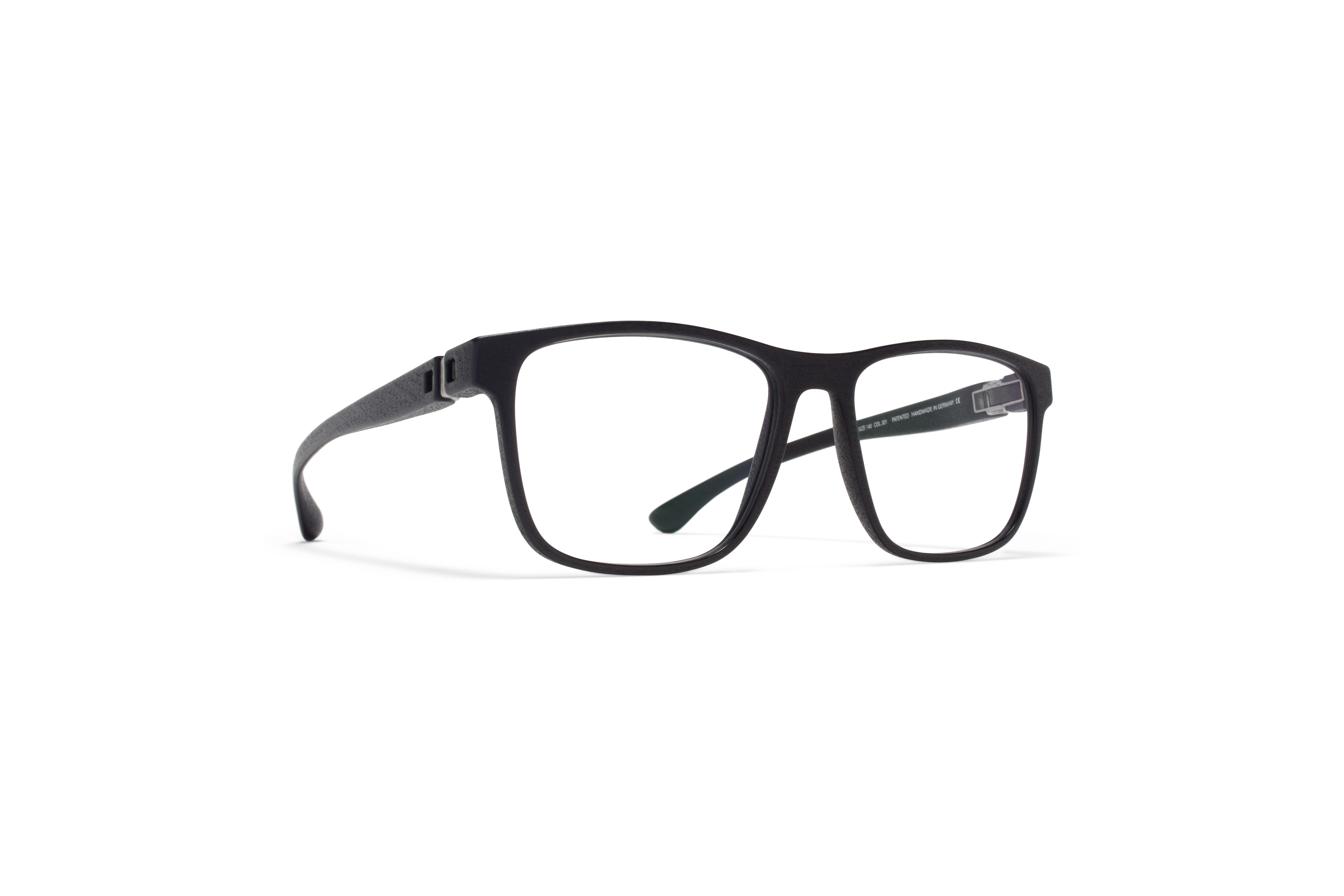 MYKITA Mylon Rx Spin Md1 Pitch Black Clear