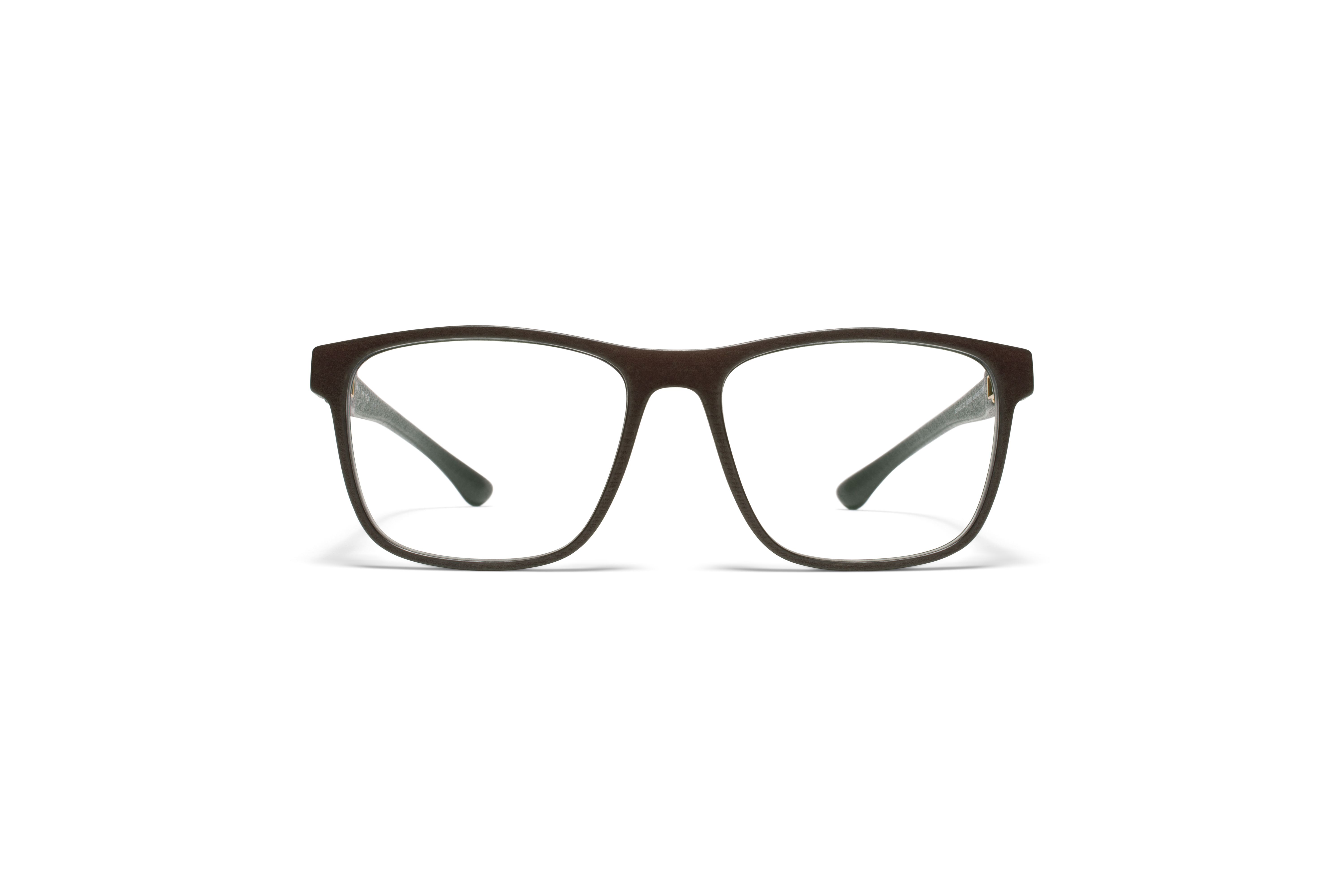 MYKITA Mylon Rx Spin Md22 Ebony Brown Clear