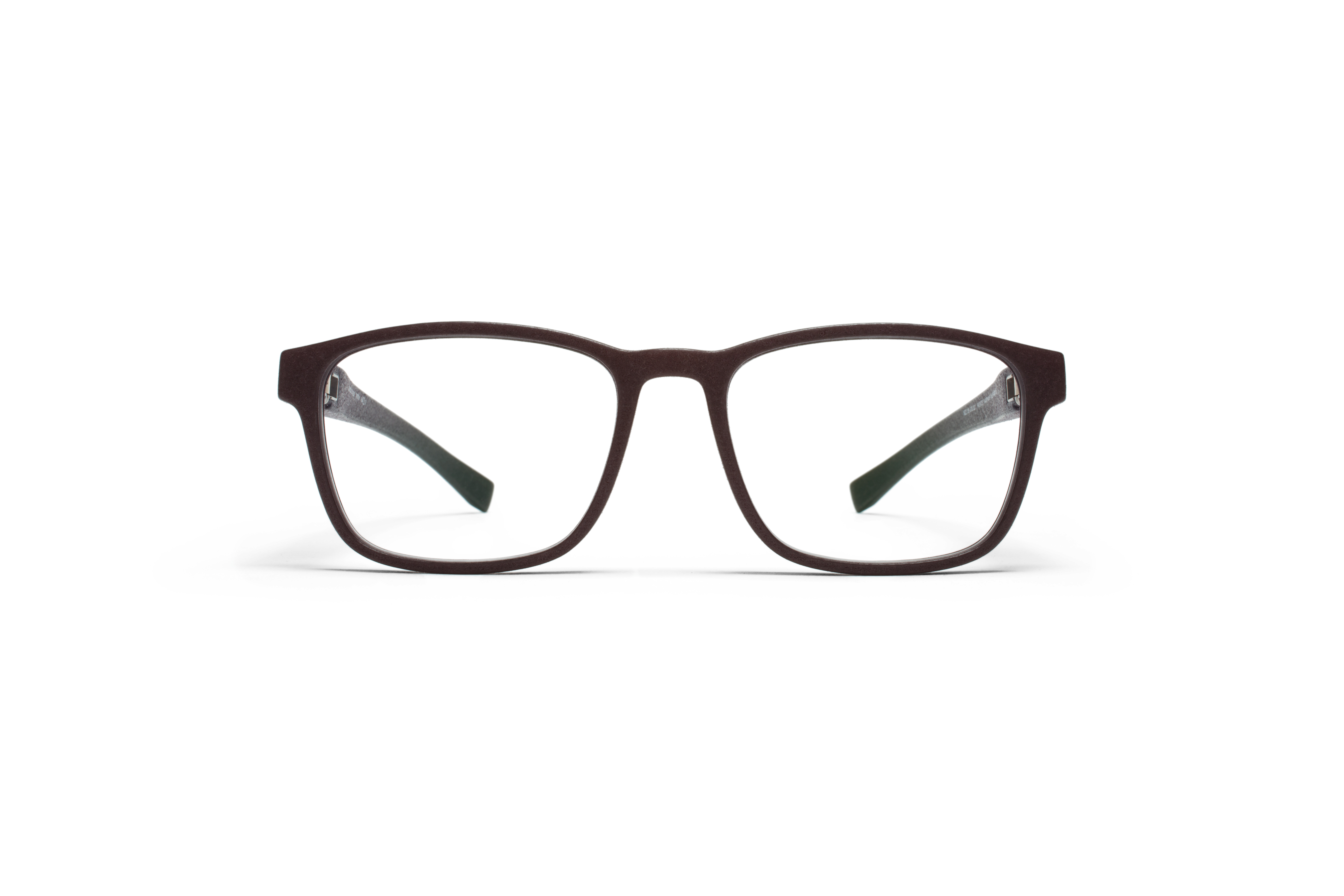 MYKITA Mylon Rx Triton Md22 Ebony Brown Clear