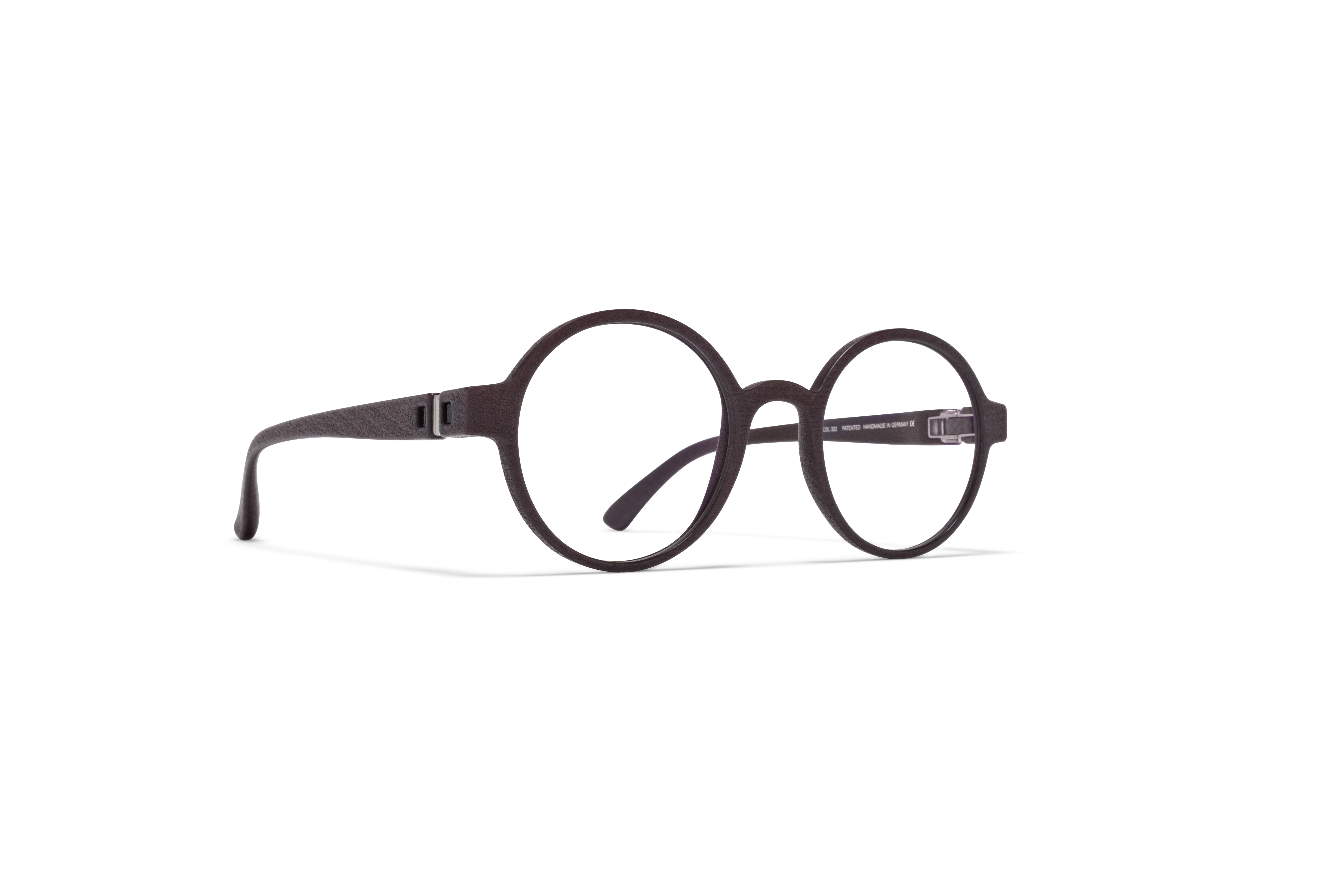 MYKITA Mylon Rx Voo Md22 Ebony Brown Clear