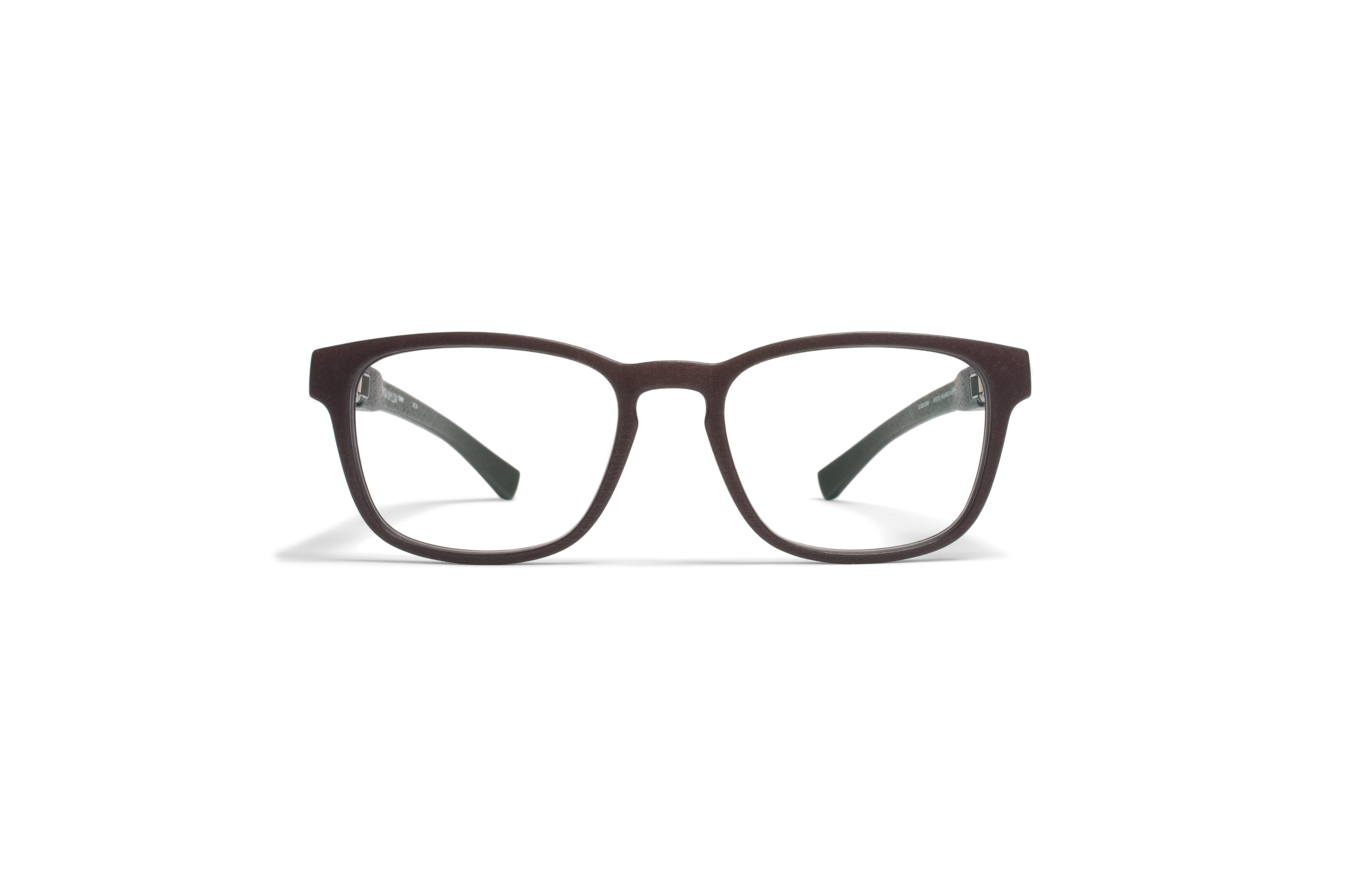 MYKITA Mylon Rx Zaren Md22 Ebony Brown Clear