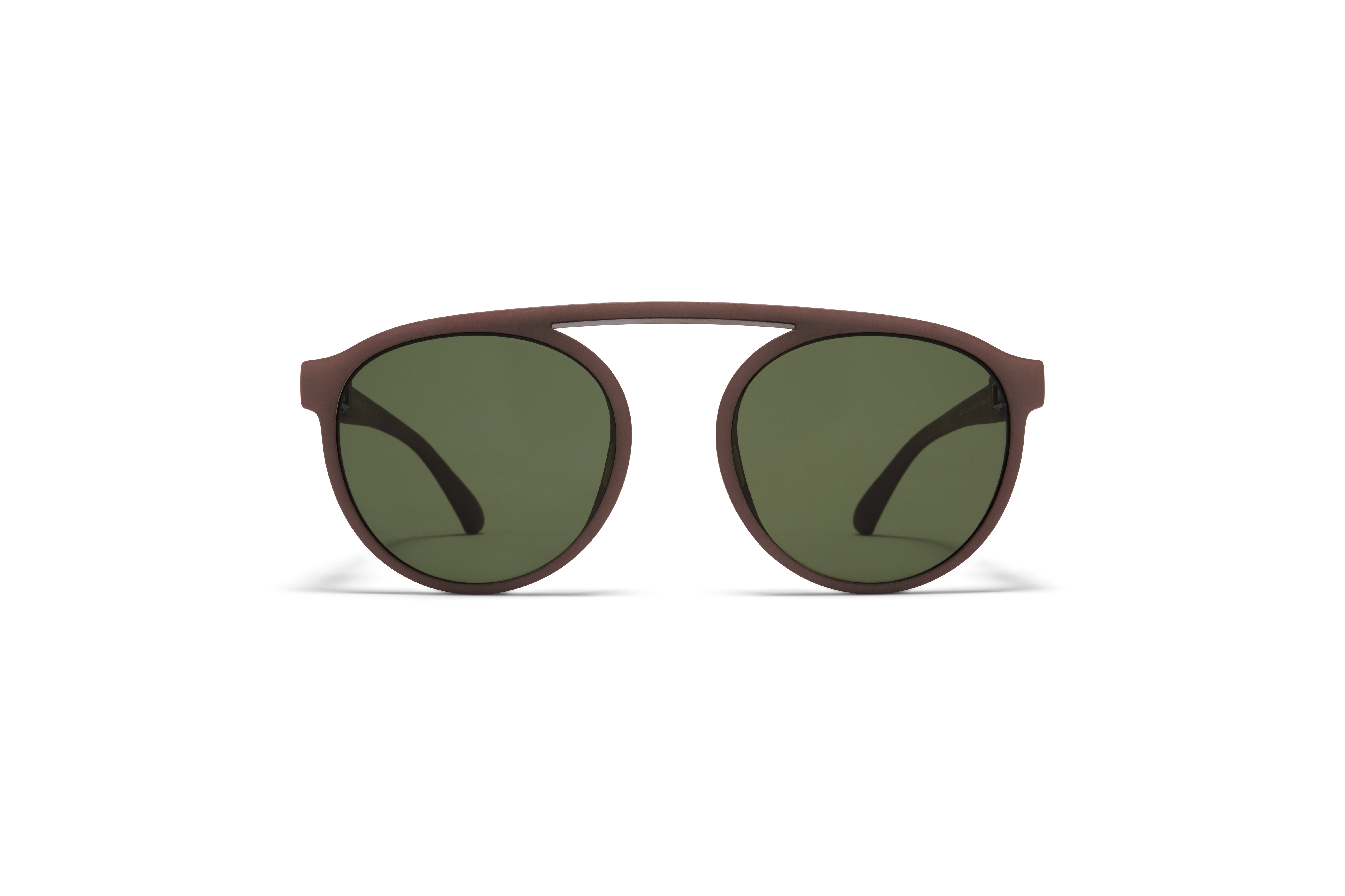 MYKITA Mylon Sun Altos Mmt7 Taupe Grey Shiny Graphite Fern Polarised