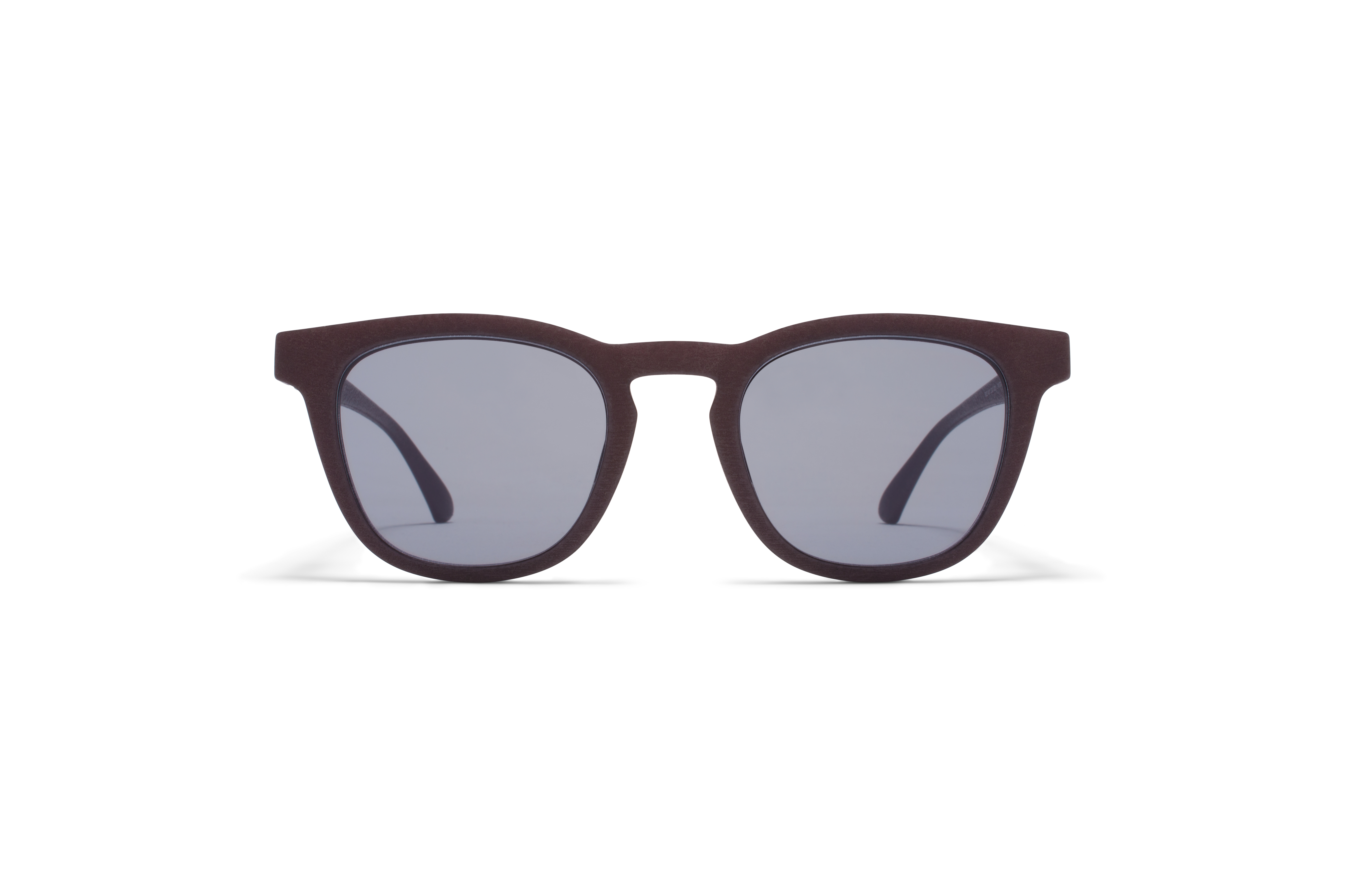 MYKITA Mylon Sun Balta Md22 Ebony Brown Pale Blue Solid