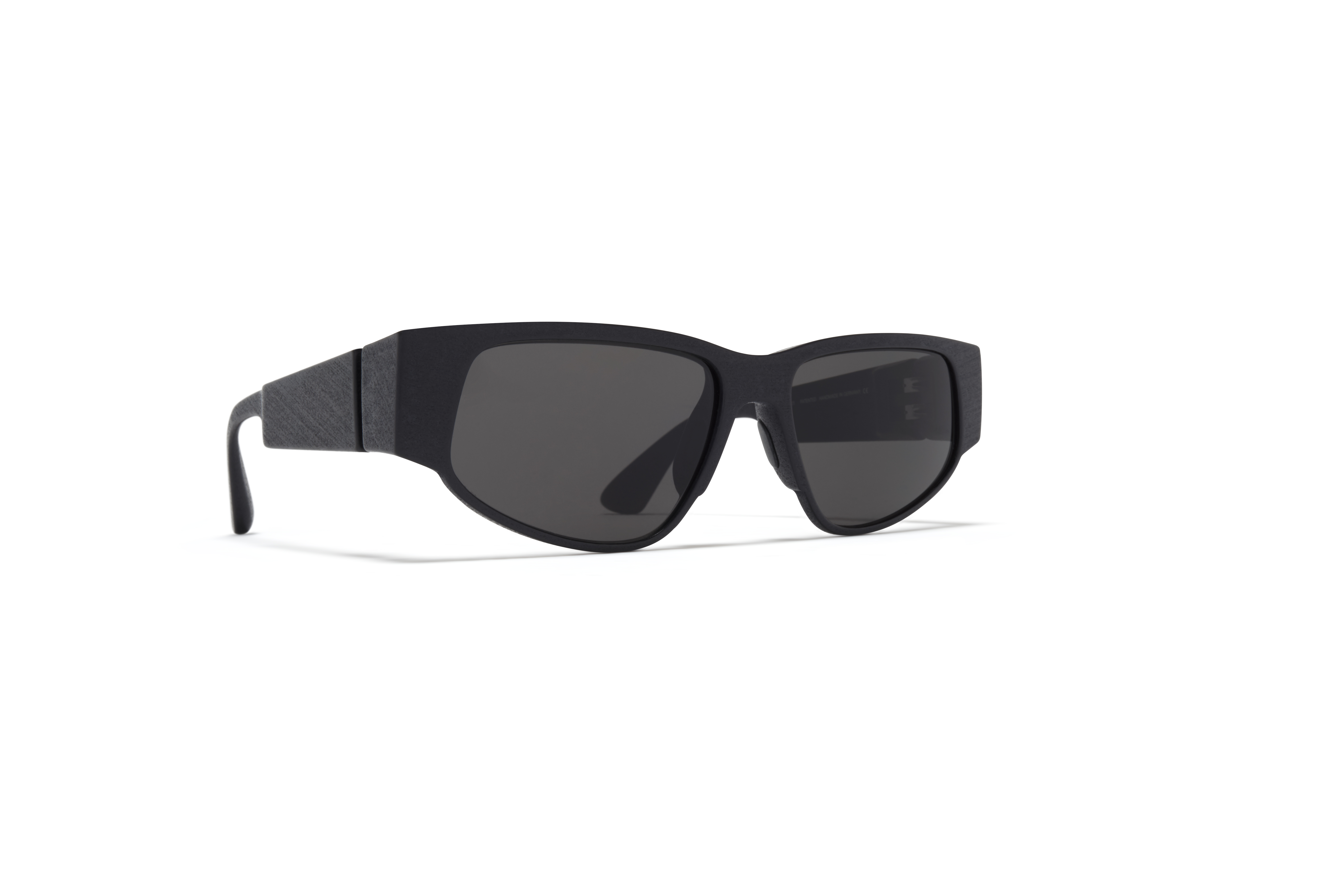MYKITA Mylon Sun Cash Md1 Pitch Black Grey Solid