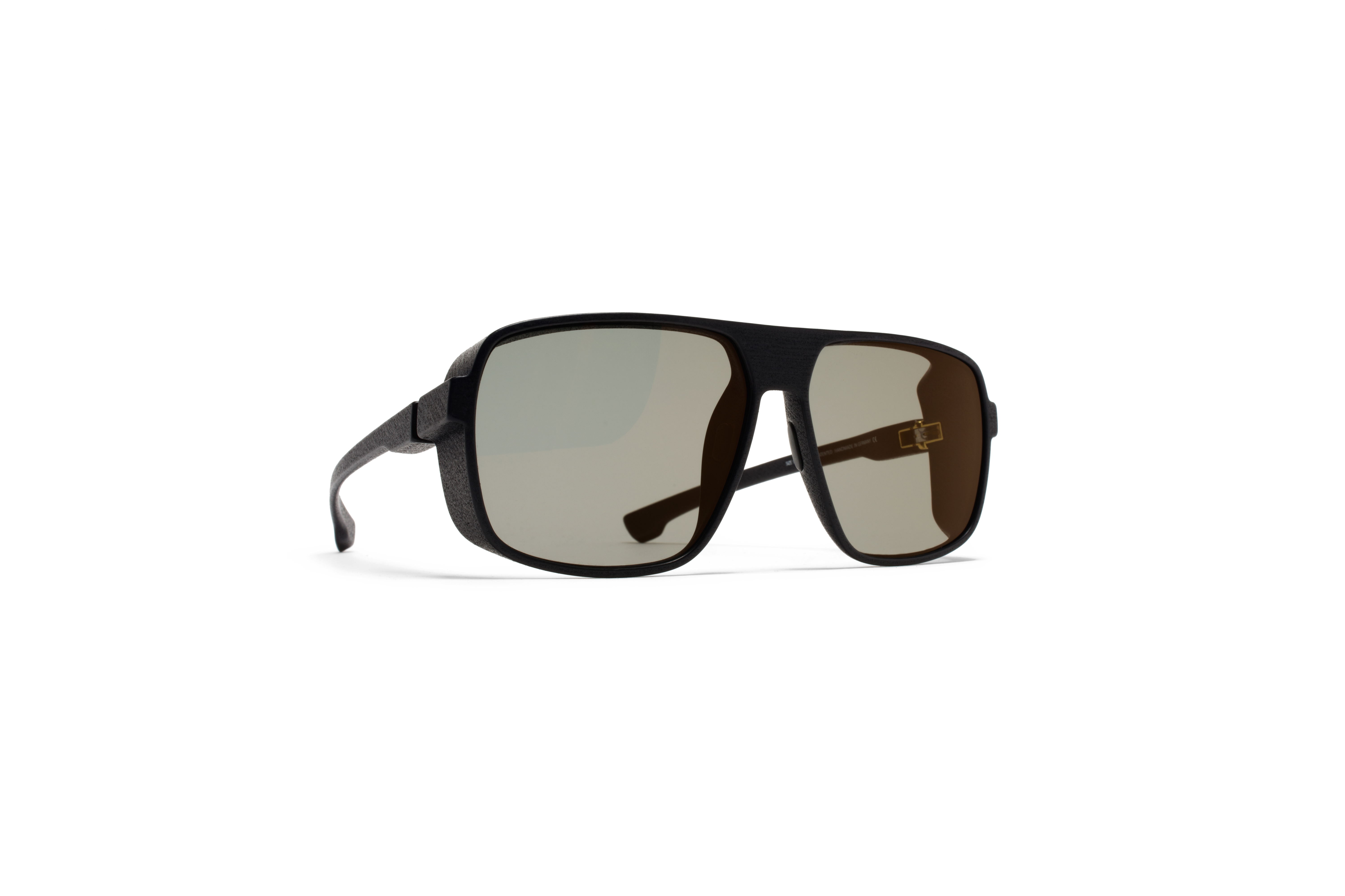 MYKITA Mylon Sun Daggoo Md1 Pitch Black Lightgold