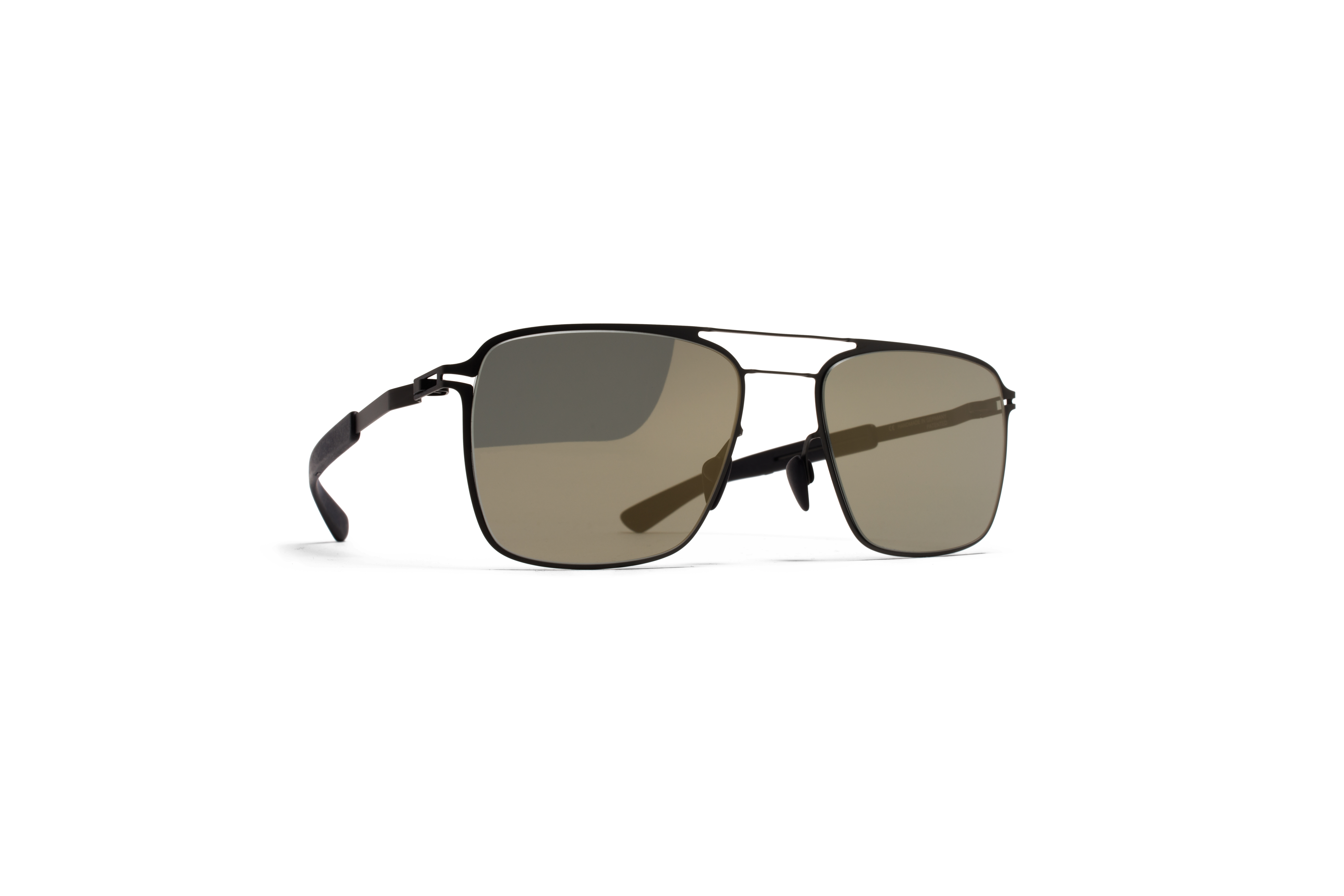 MYKITA Mylon Sun Flax Mh1 Black Pitch Black Gunmet