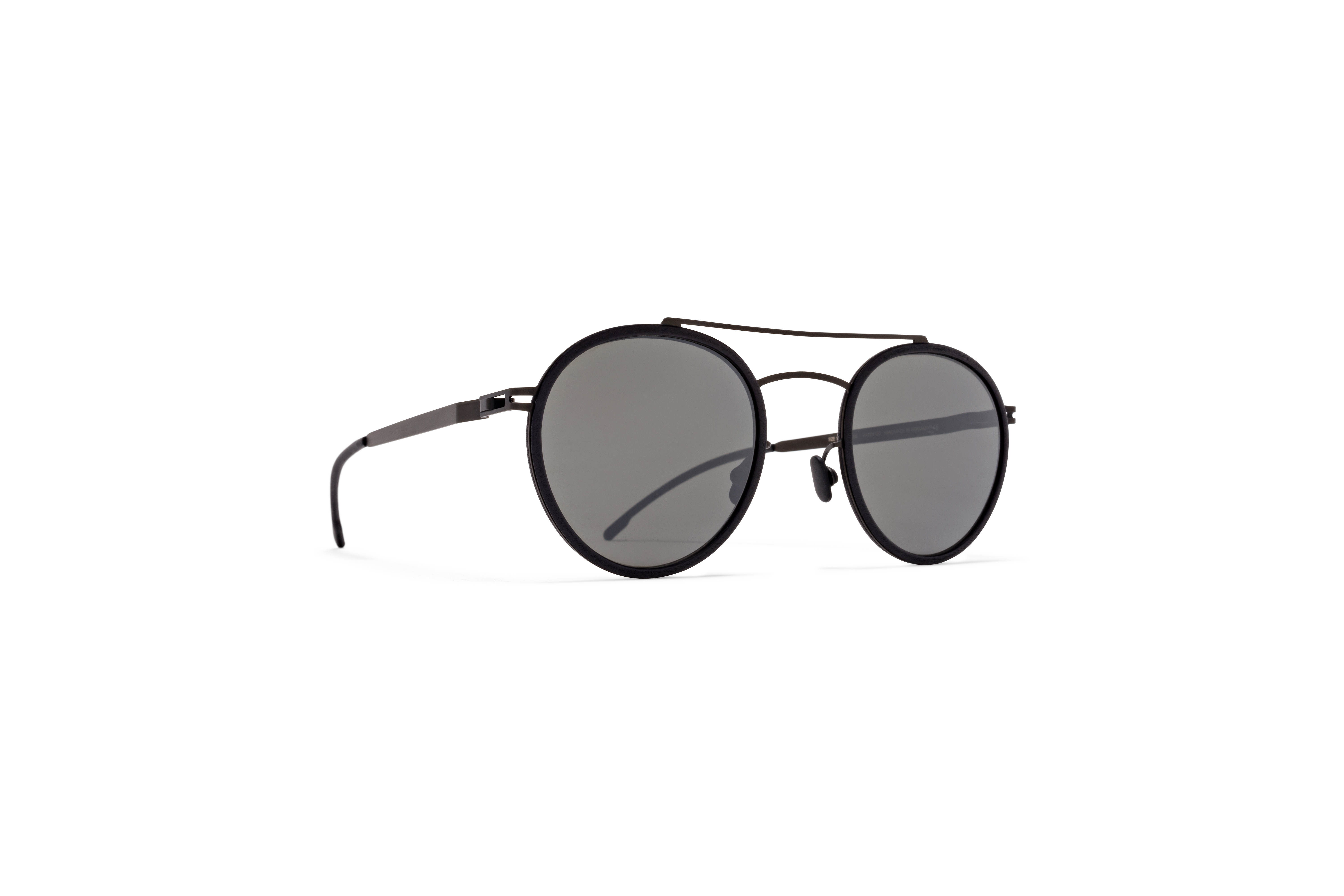 MYKITA Mylon Sun Hay Mh6 Pitch Black Black Mirror Black