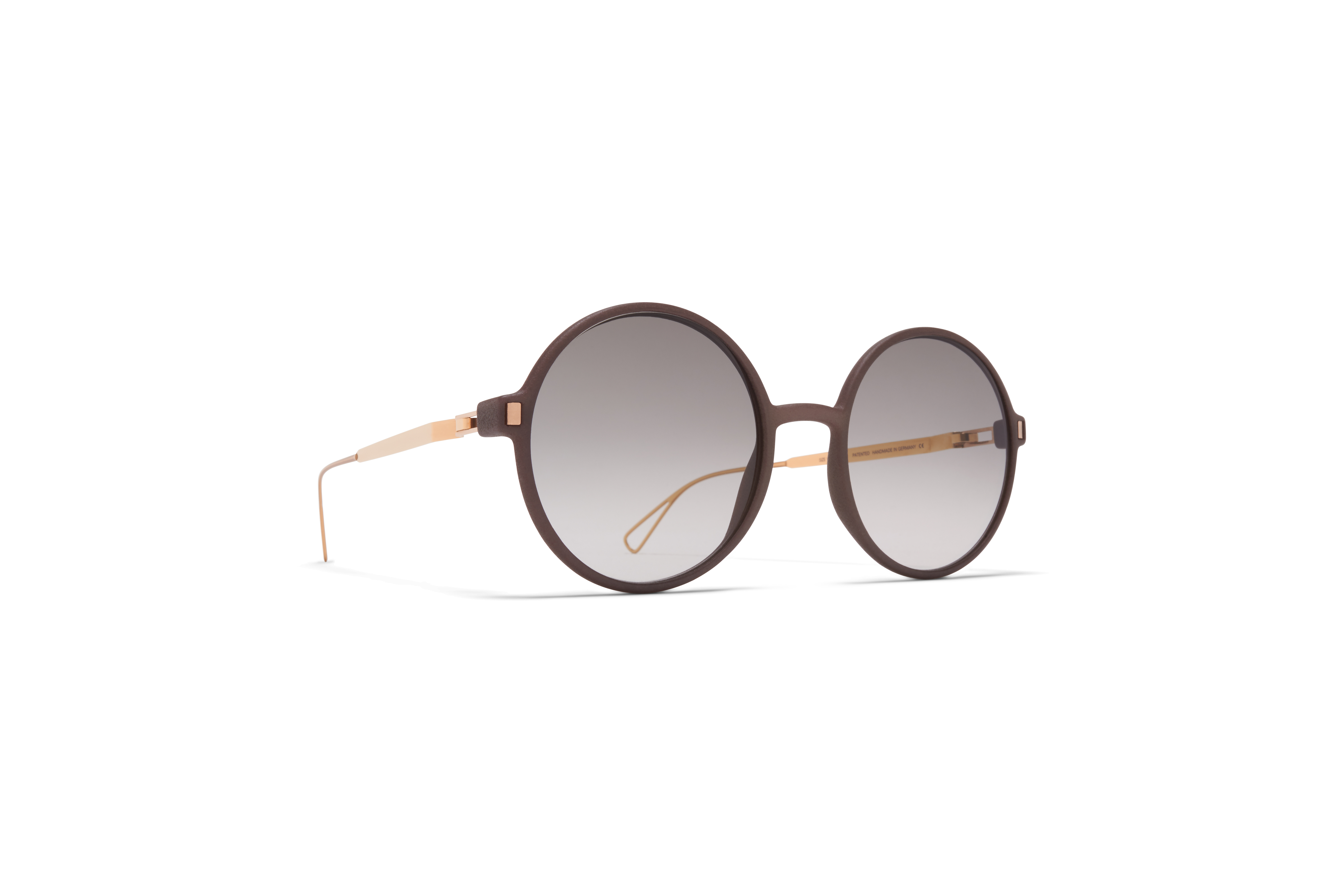 MYKITA Mylon Sun Haze Mh17 Taupe Grey Champagne Gold Original Grey Gradient