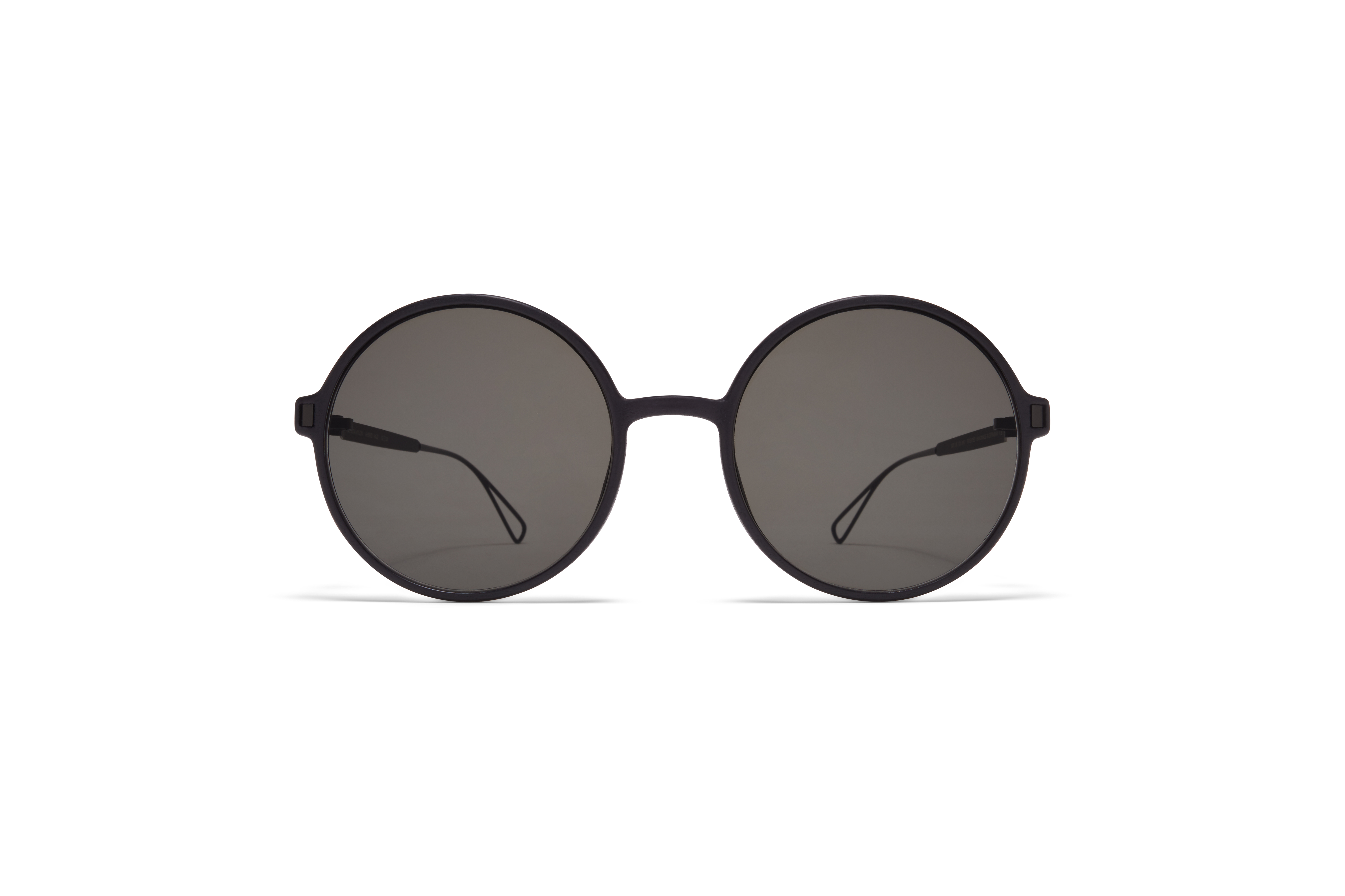 MYKITA Mylon Sun Haze Mh6 Pitch Black Black Grey Solid