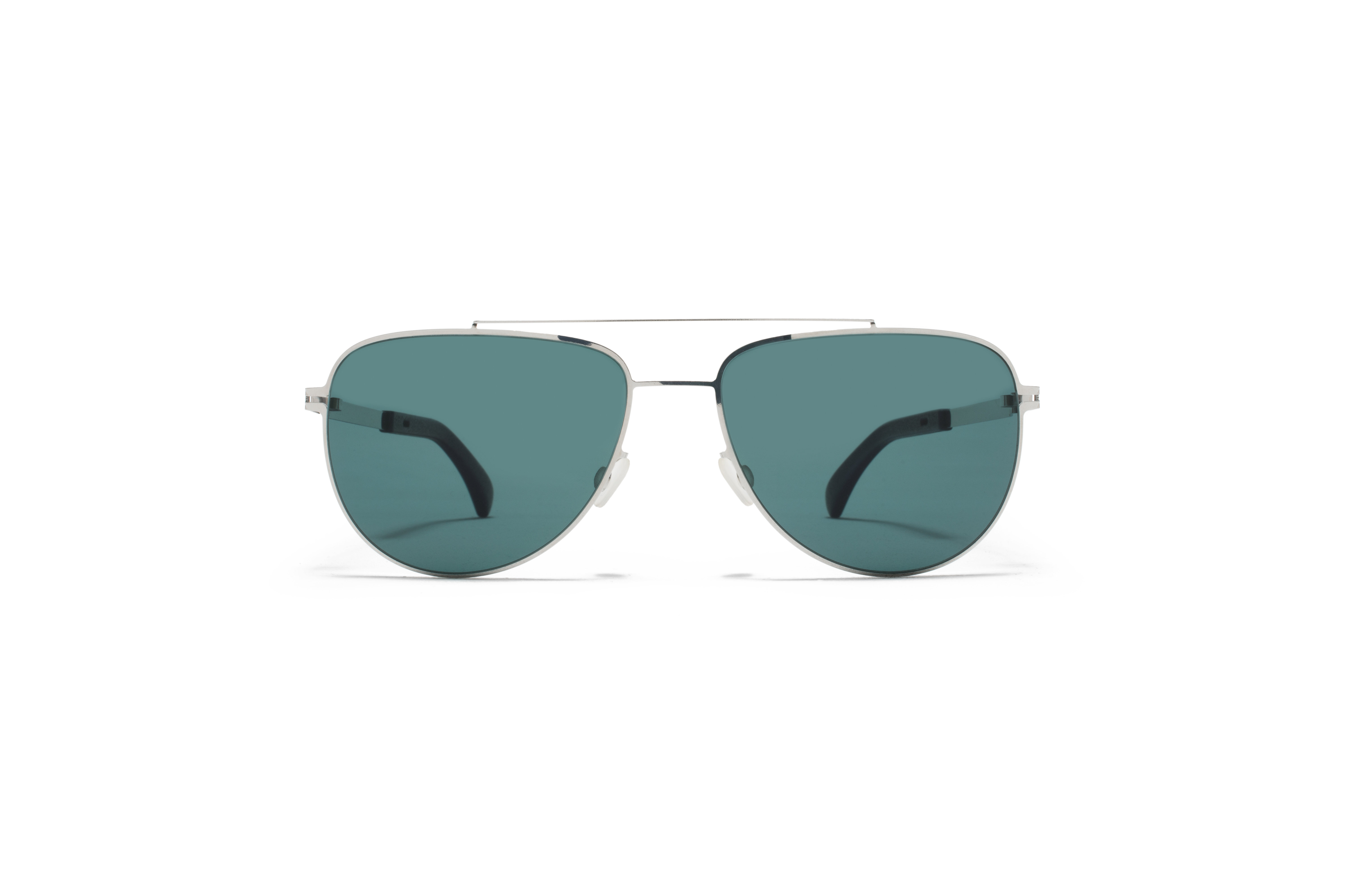 MYKITA Mylon Sun Leaf Mh10 Navy Blue Shiny Silver Neophan Polarised