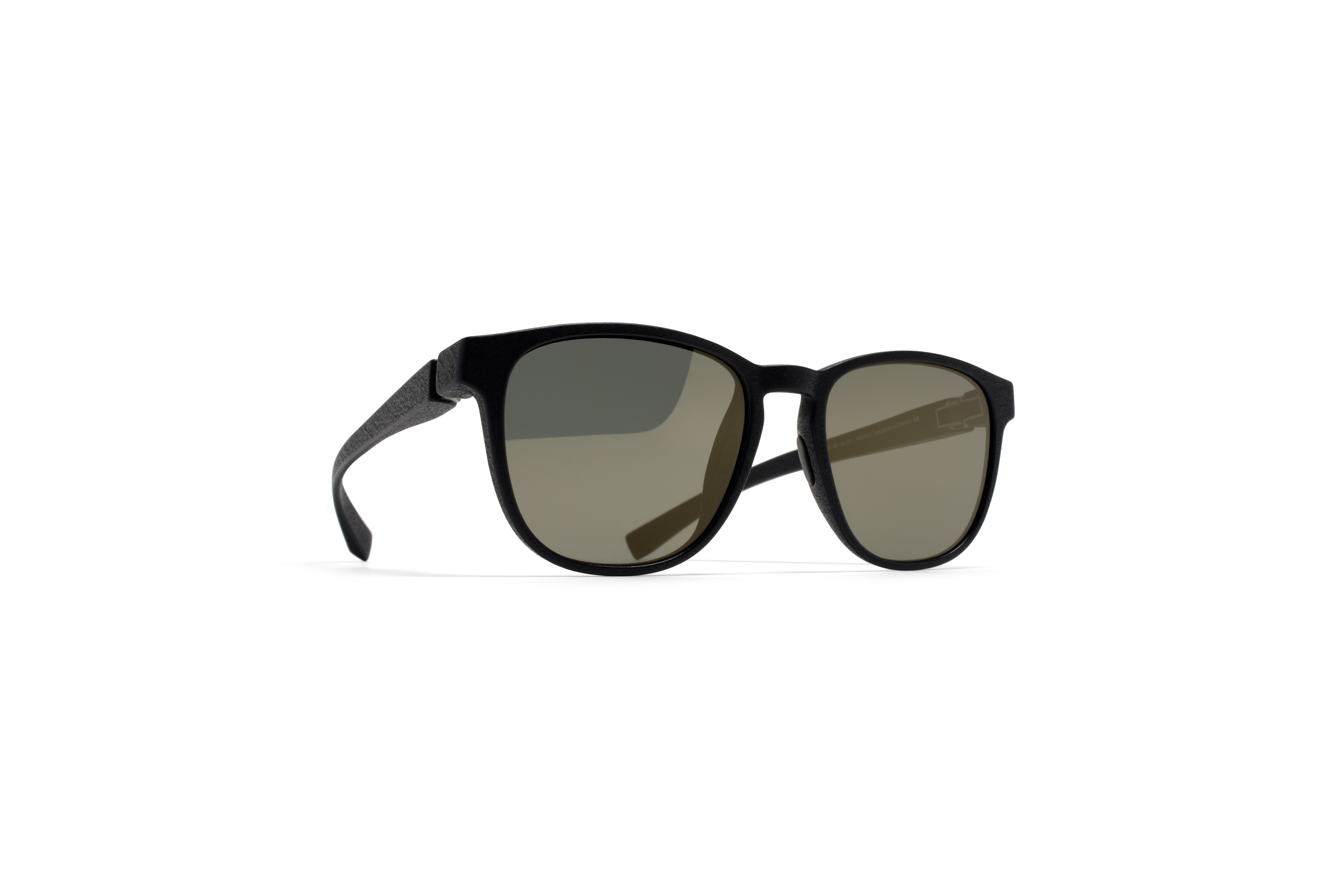 MYKITA Mylon Sun Lemas Md1 Pitch Black Lightgold F58122b643021a