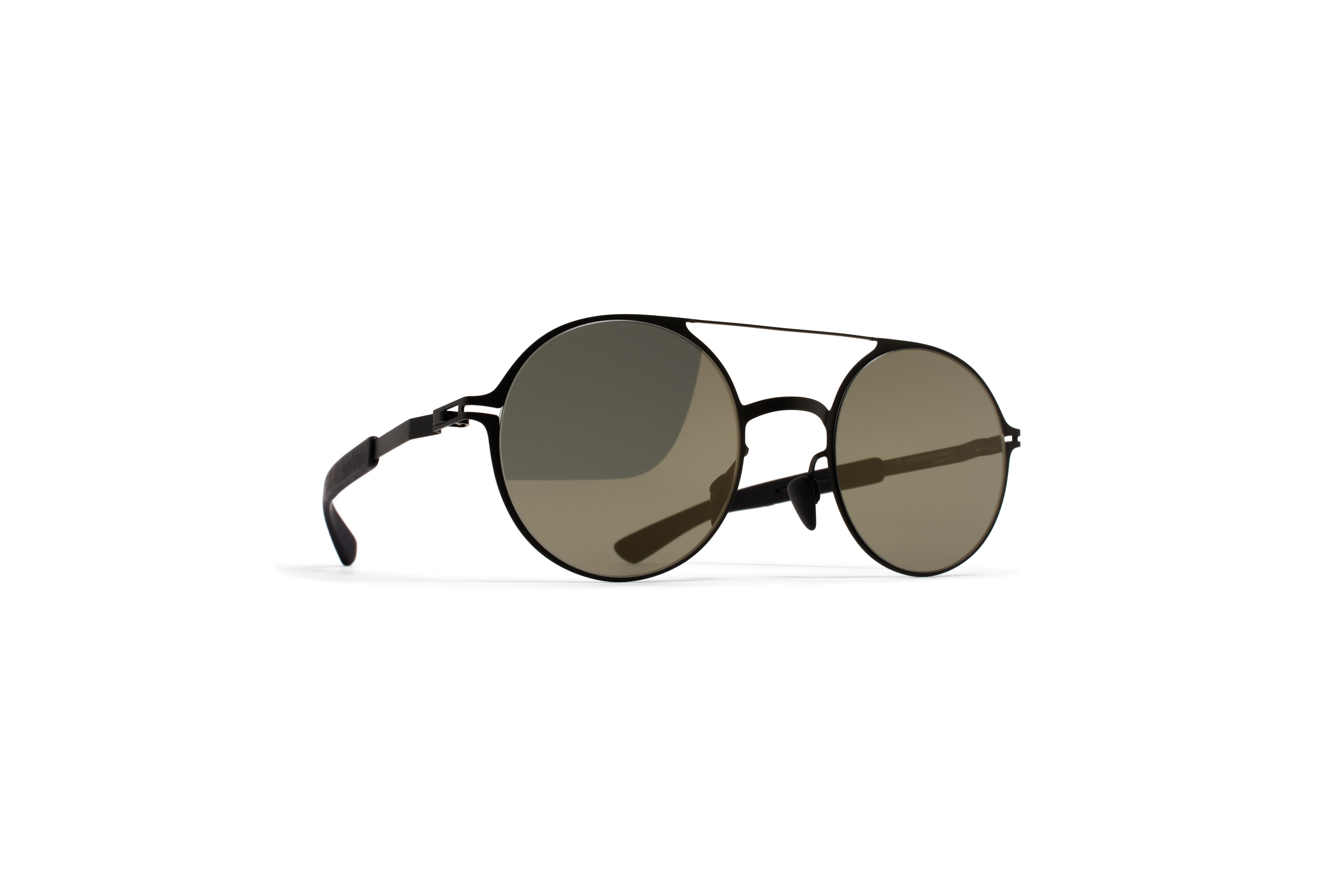 MYKITA Mylon Sun Lupine Mh1 Black Pitch Black Gunm