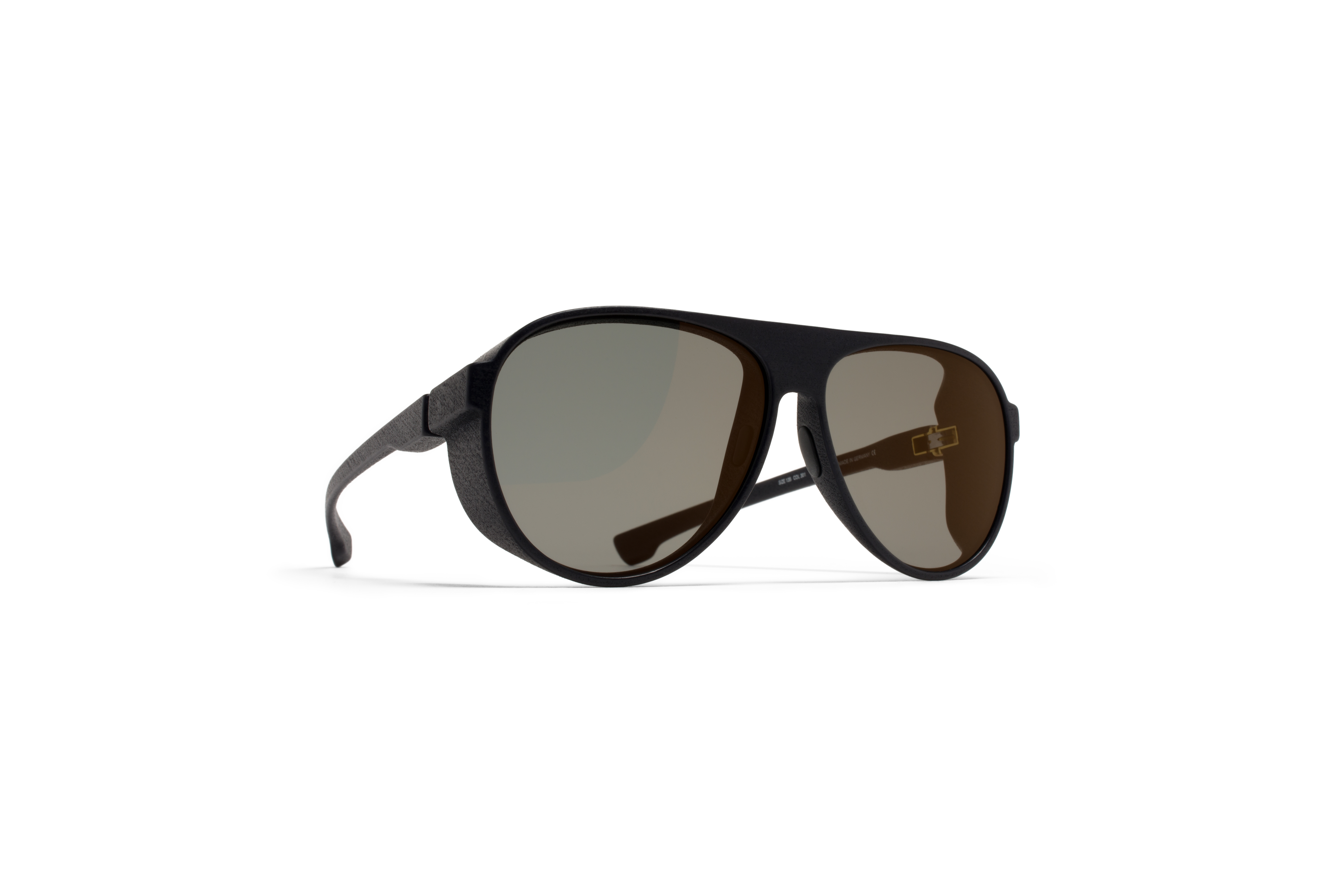MYKITA Mylon Sun Perth Md1 Pitch Black Lightgold F570f977240042