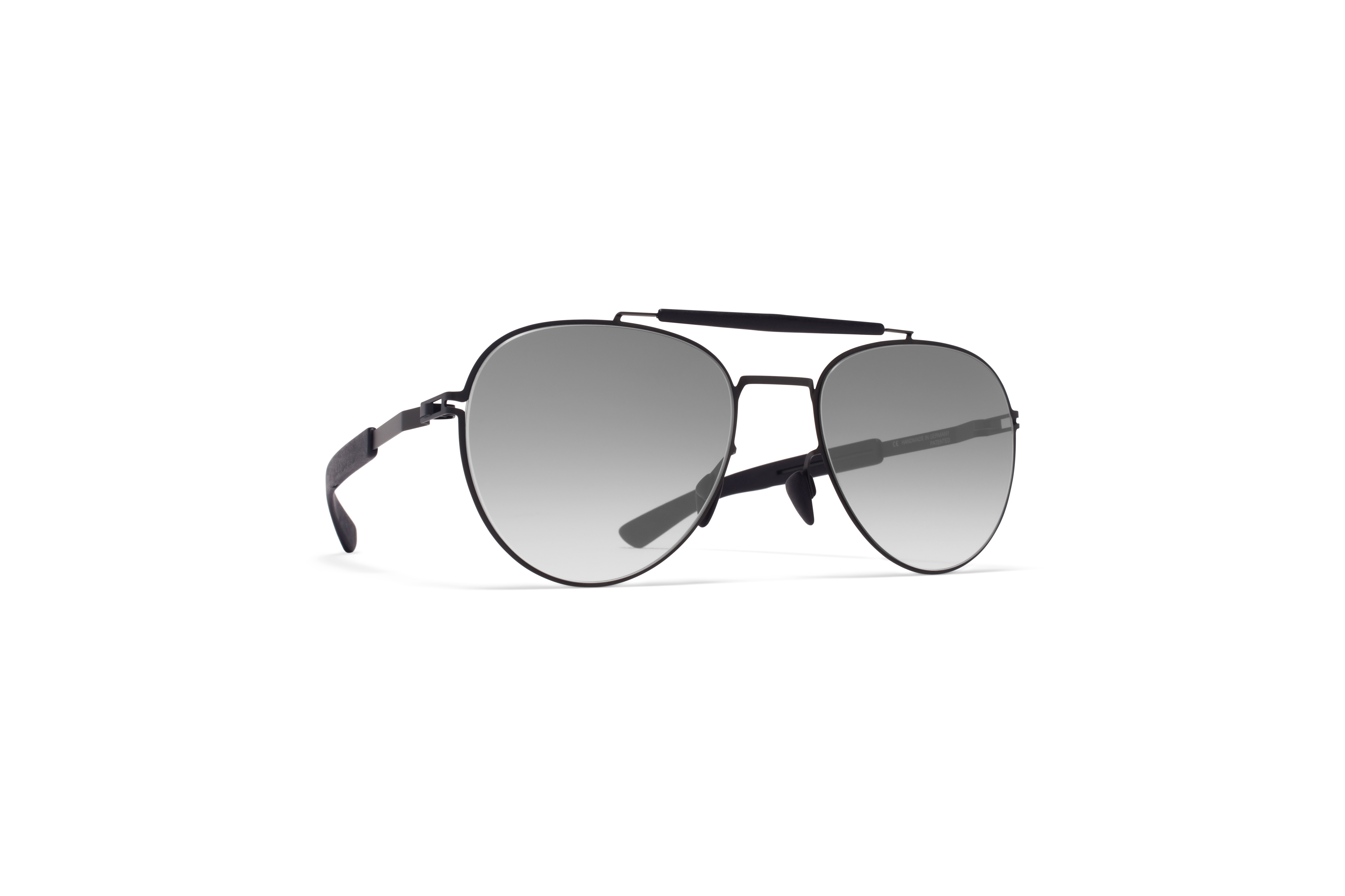 MYKITA Mylon Sun Sloe Mh1 Black Pitch Black Black