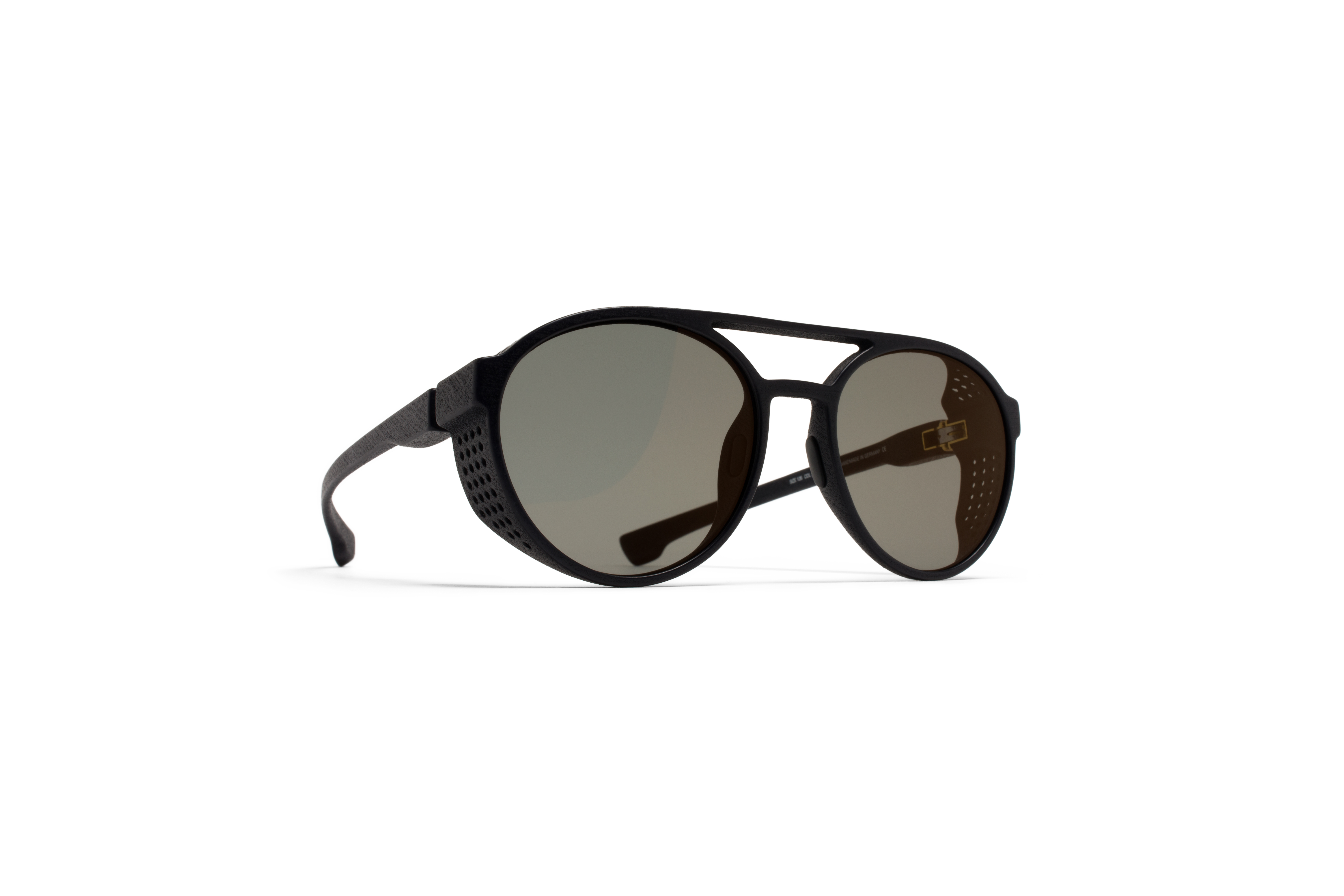 MYKITA Mylon Sun Targa Md1 Pitch Black Lightgold F57fe2ccb2e68d