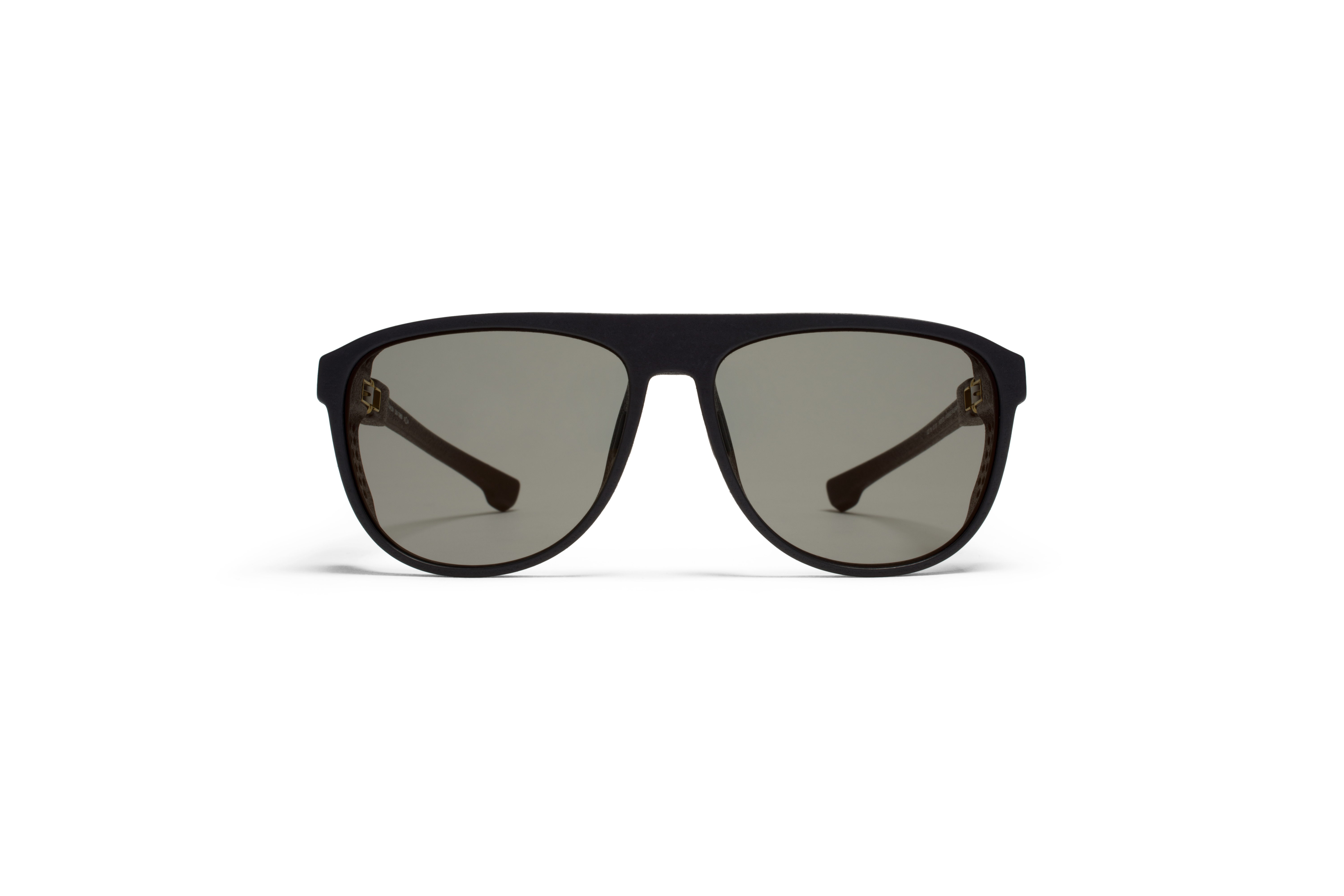MYKITA Mylon Sun Turbo Md1 Pitch Black Lightgold F570f99242f728