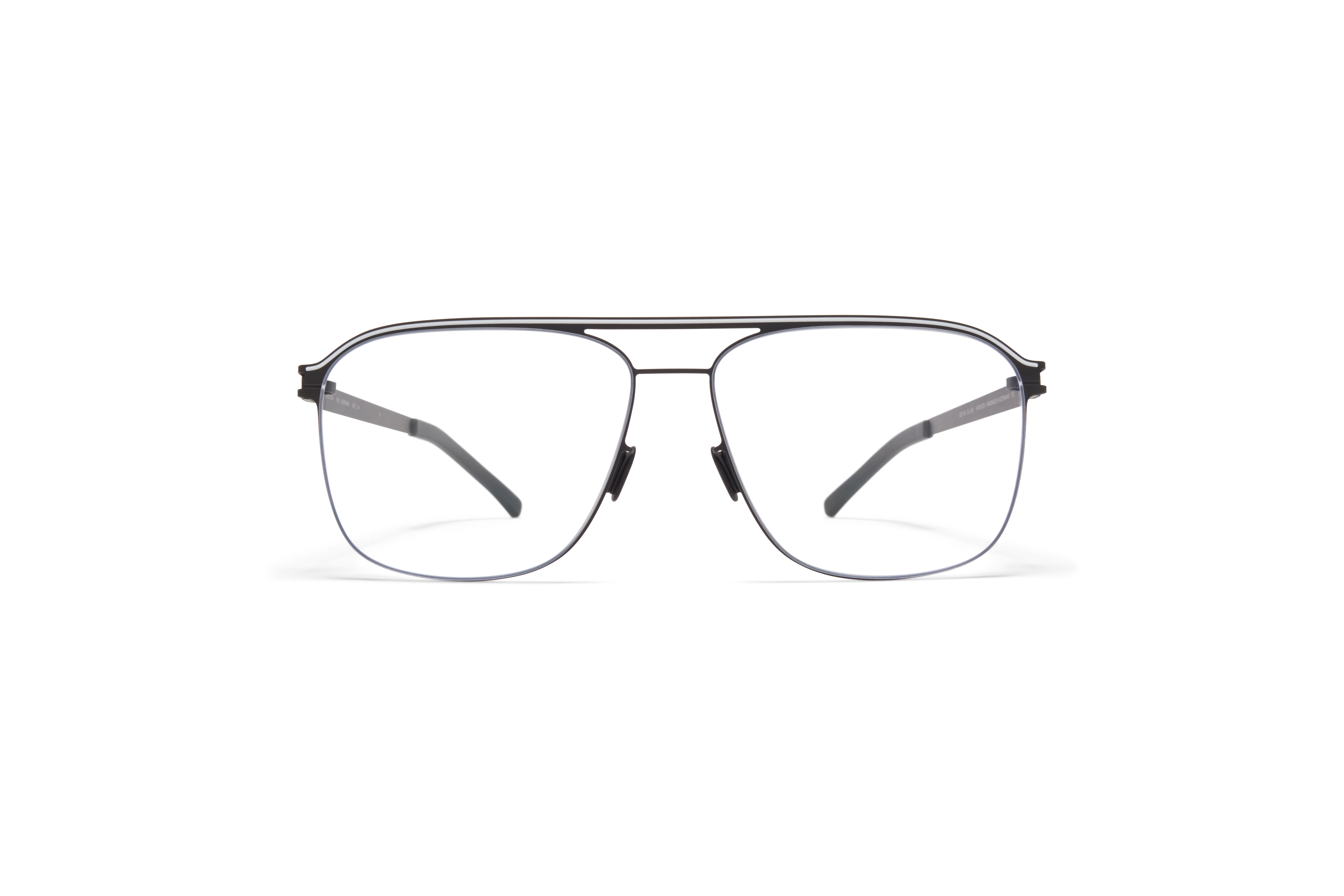 MYKITA No1 Rx Adriano Black White Clear