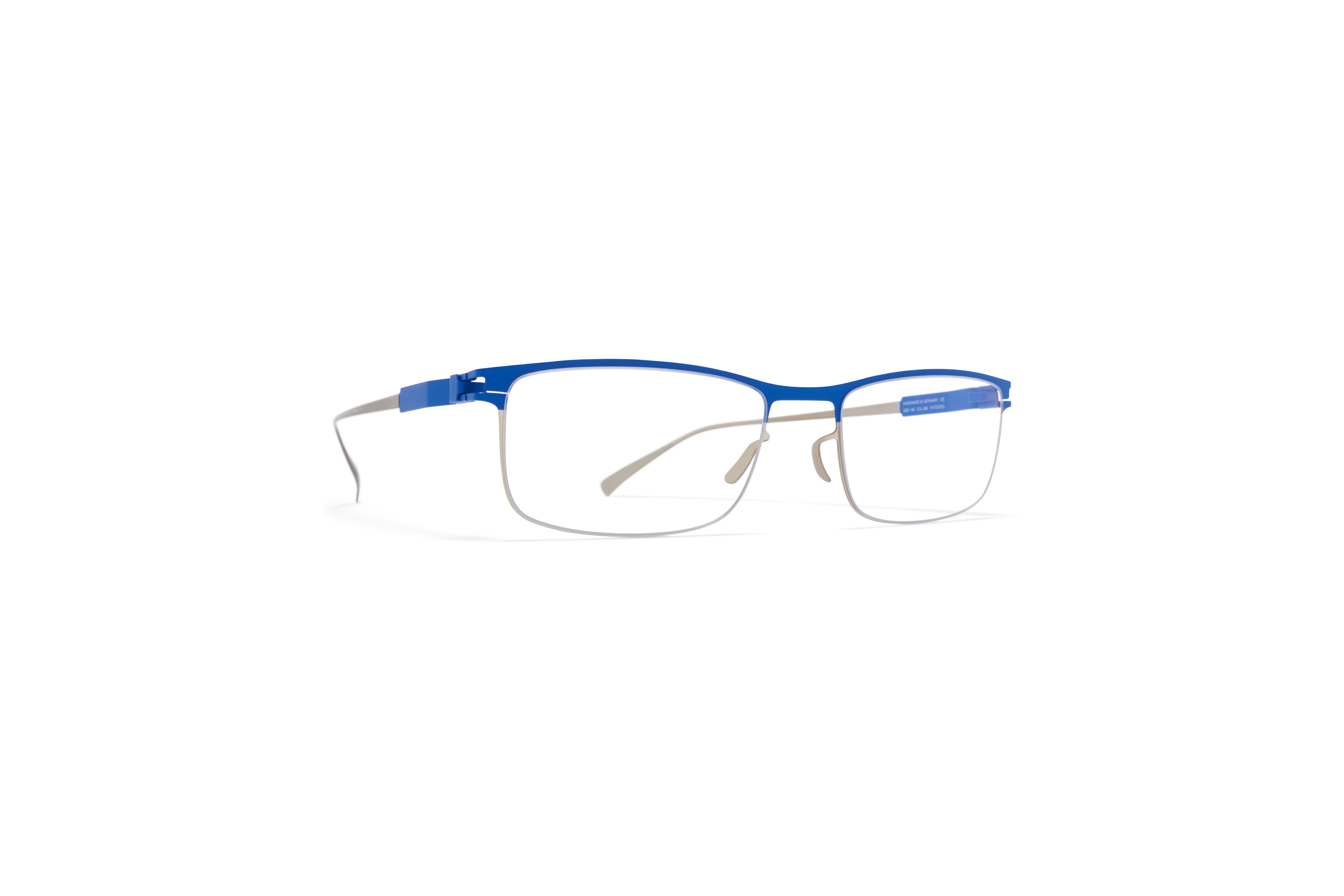 MYKITA No1 Rx Alfonso Silver Yale Blue Clear