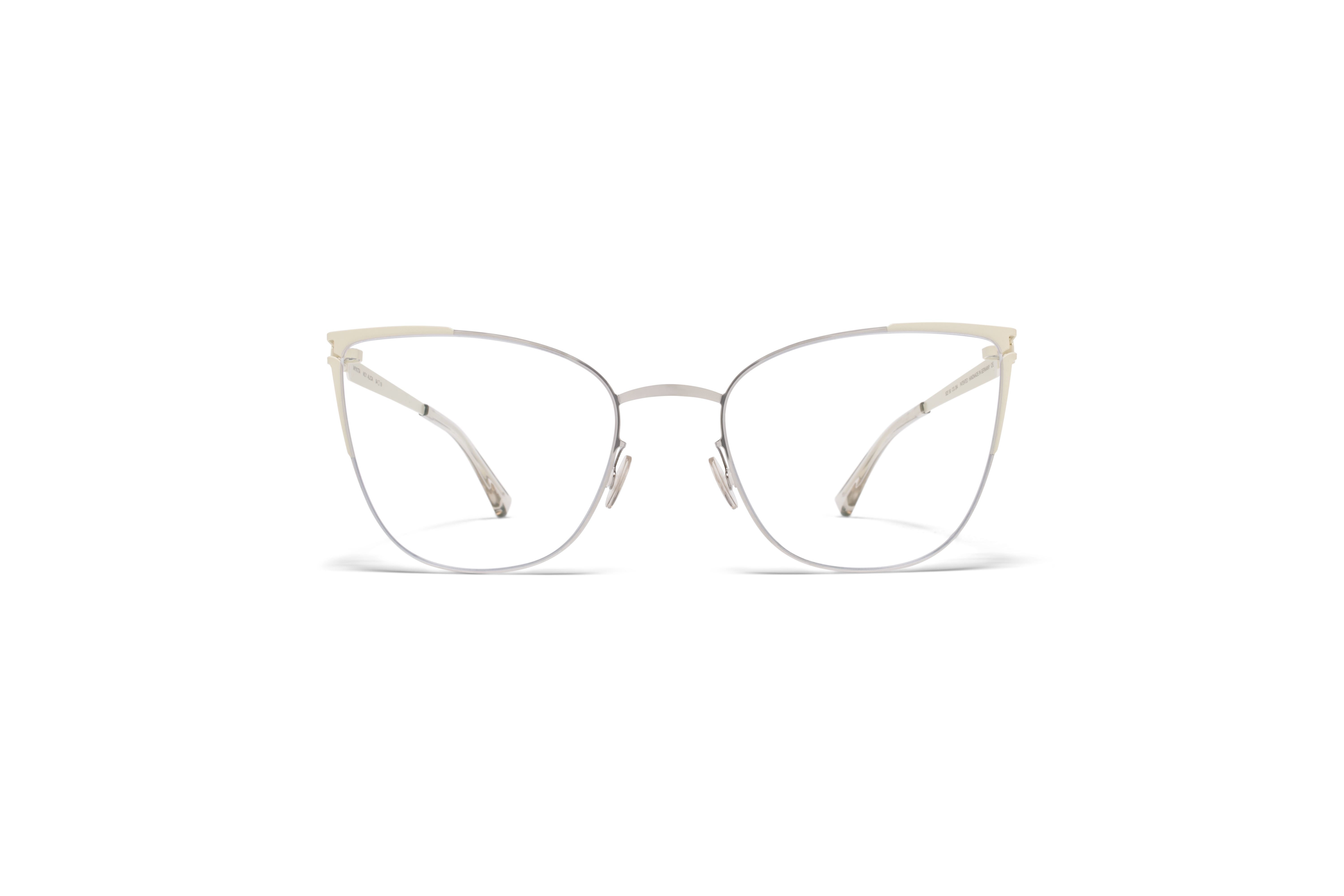 MYKITA No1 Rx Alicia Silver Off White Clear