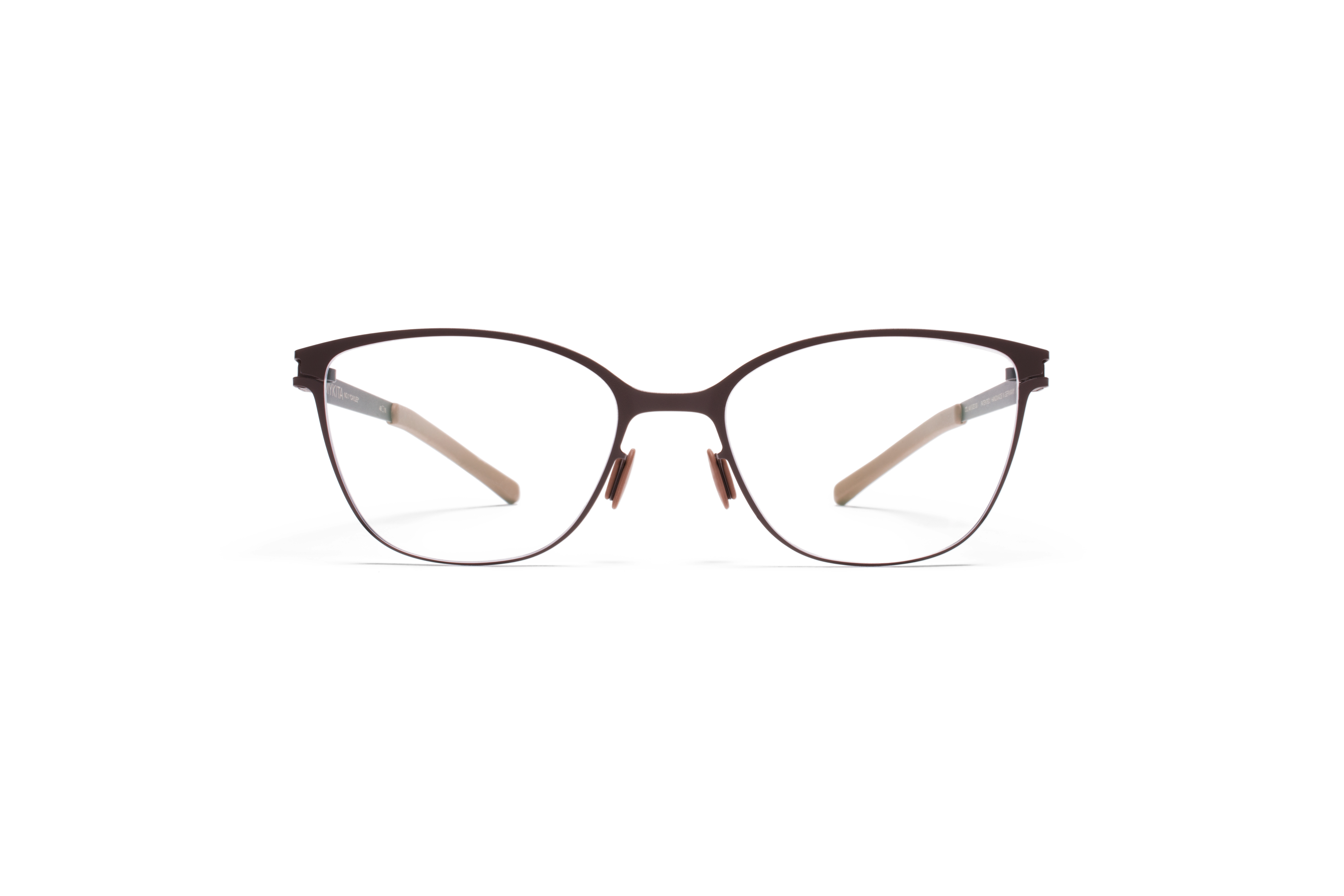 MYKITA No1 Rx Caylee Darkbrown Clear