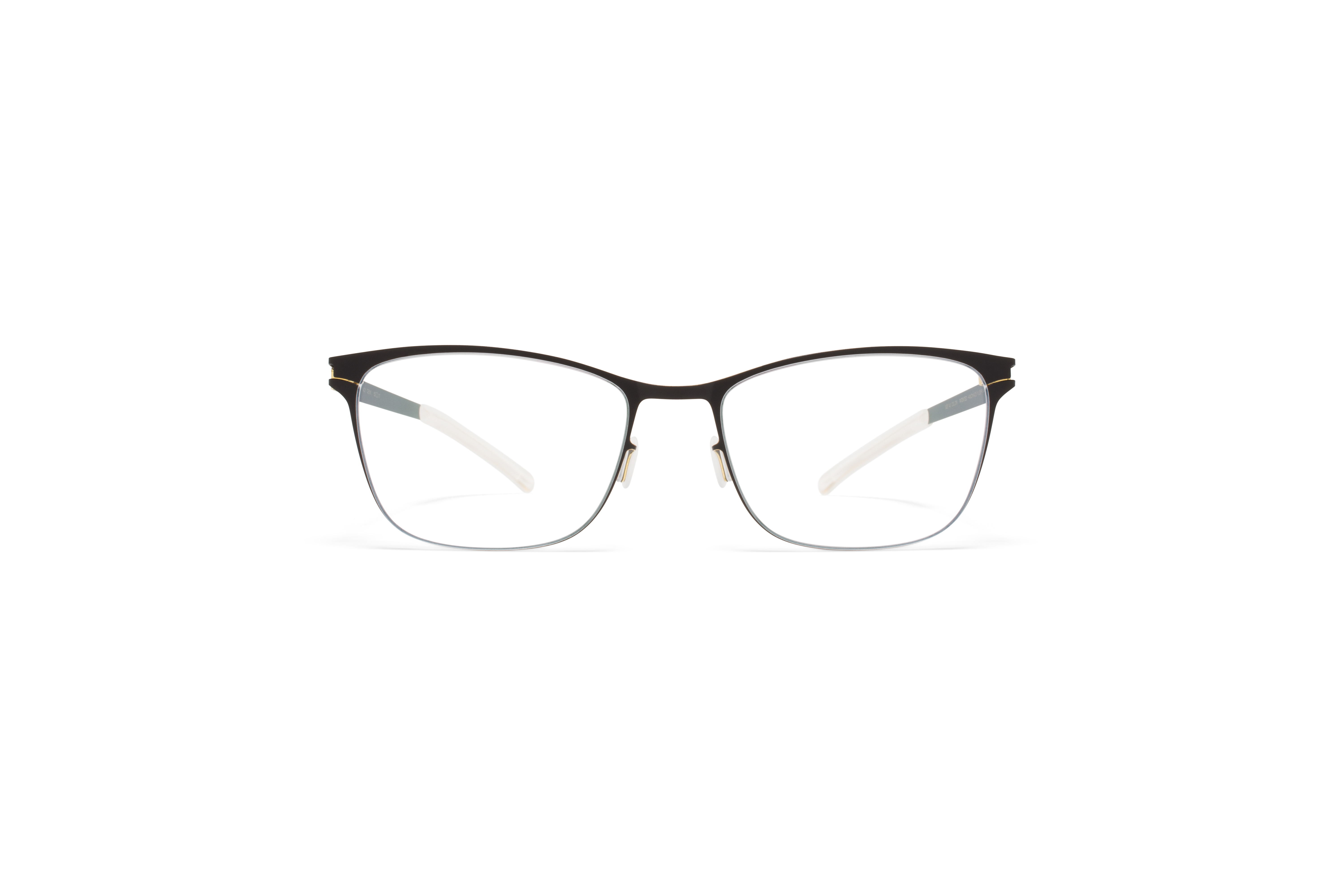 MYKITA No1 Rx Demi Black Gold Edges Clear