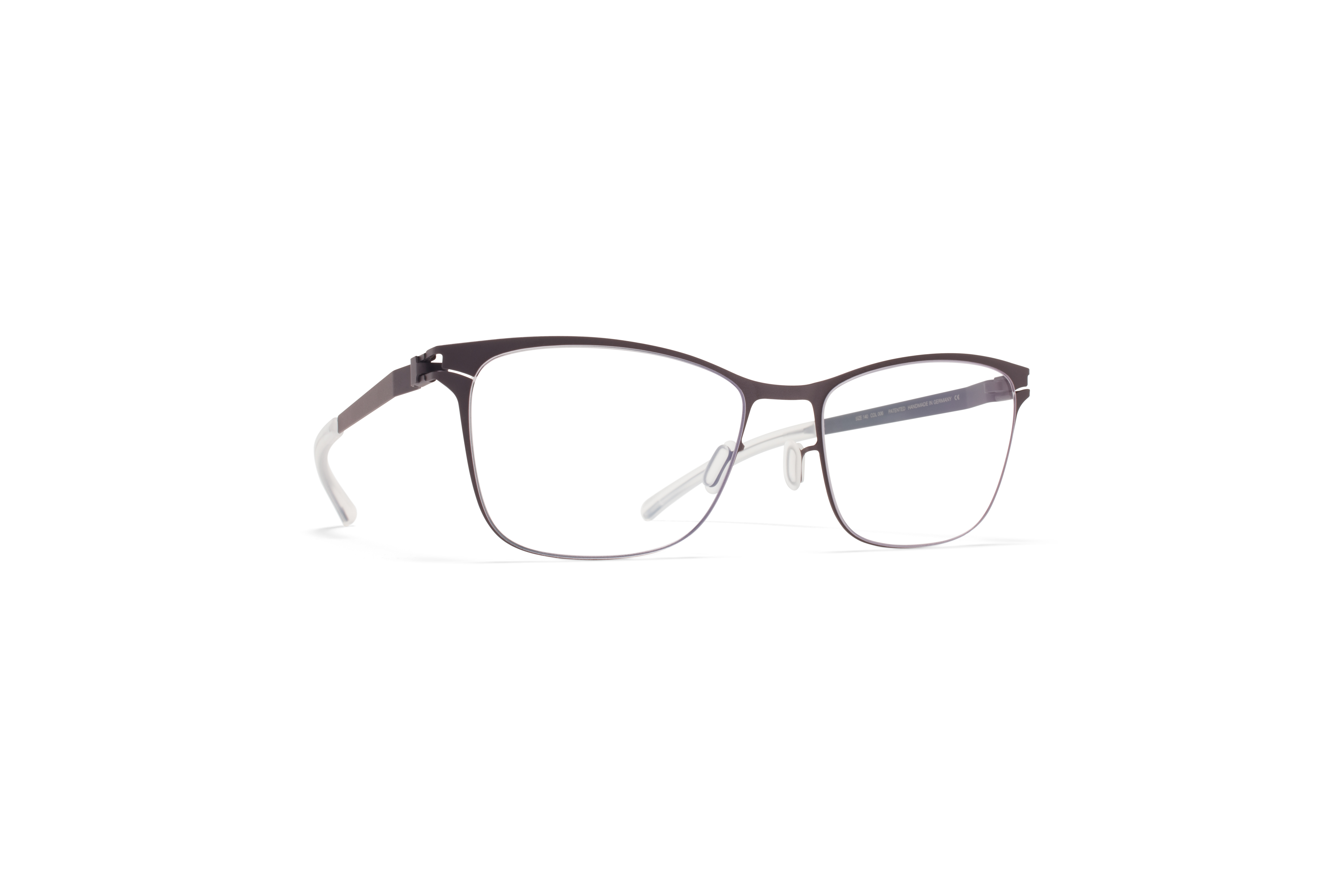 MYKITA No1 Rx Demi Blackberry Clear Jp590ae207e1f01