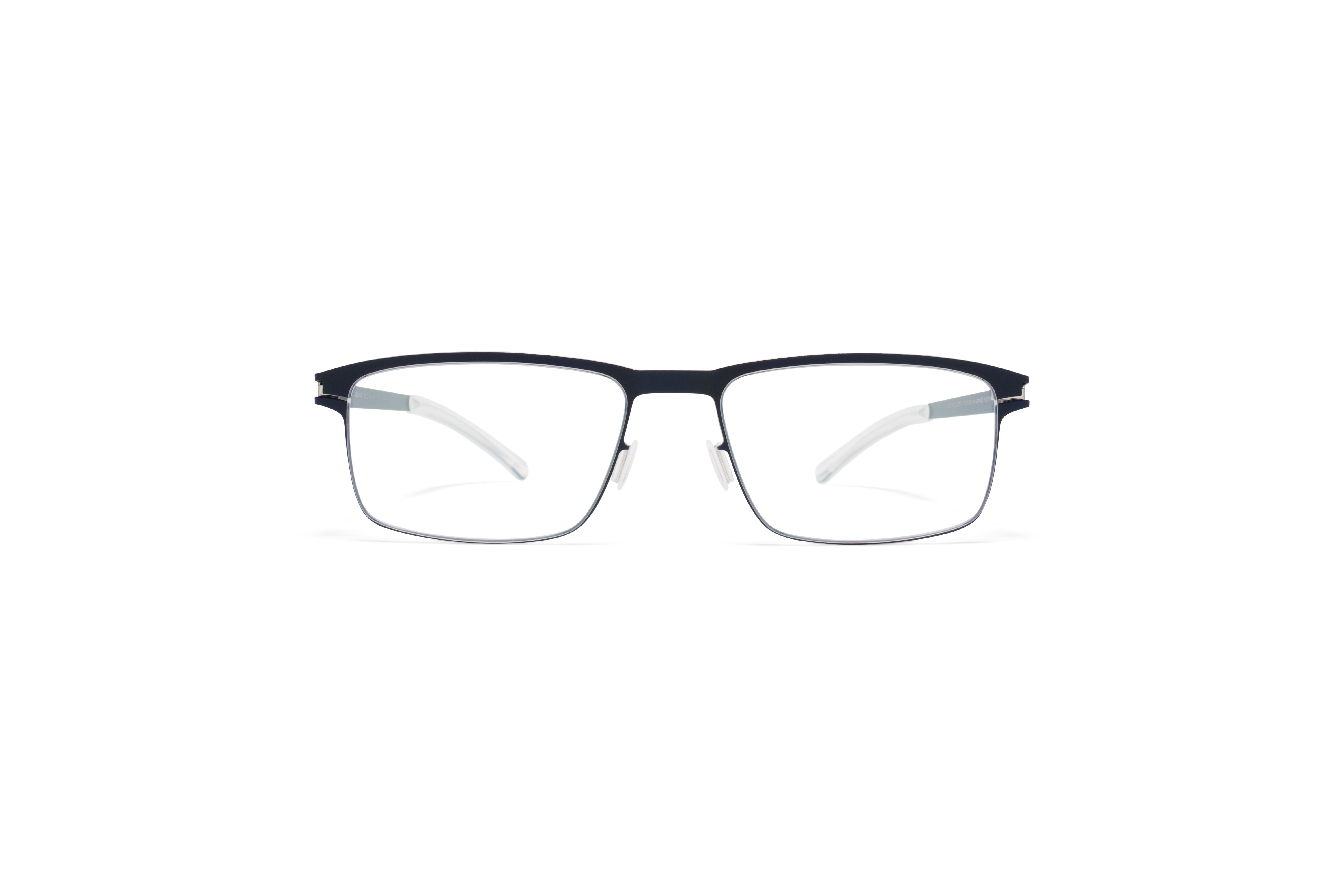 MYKITA No1 Rx Dennis Nightsky Silver Edges Clear