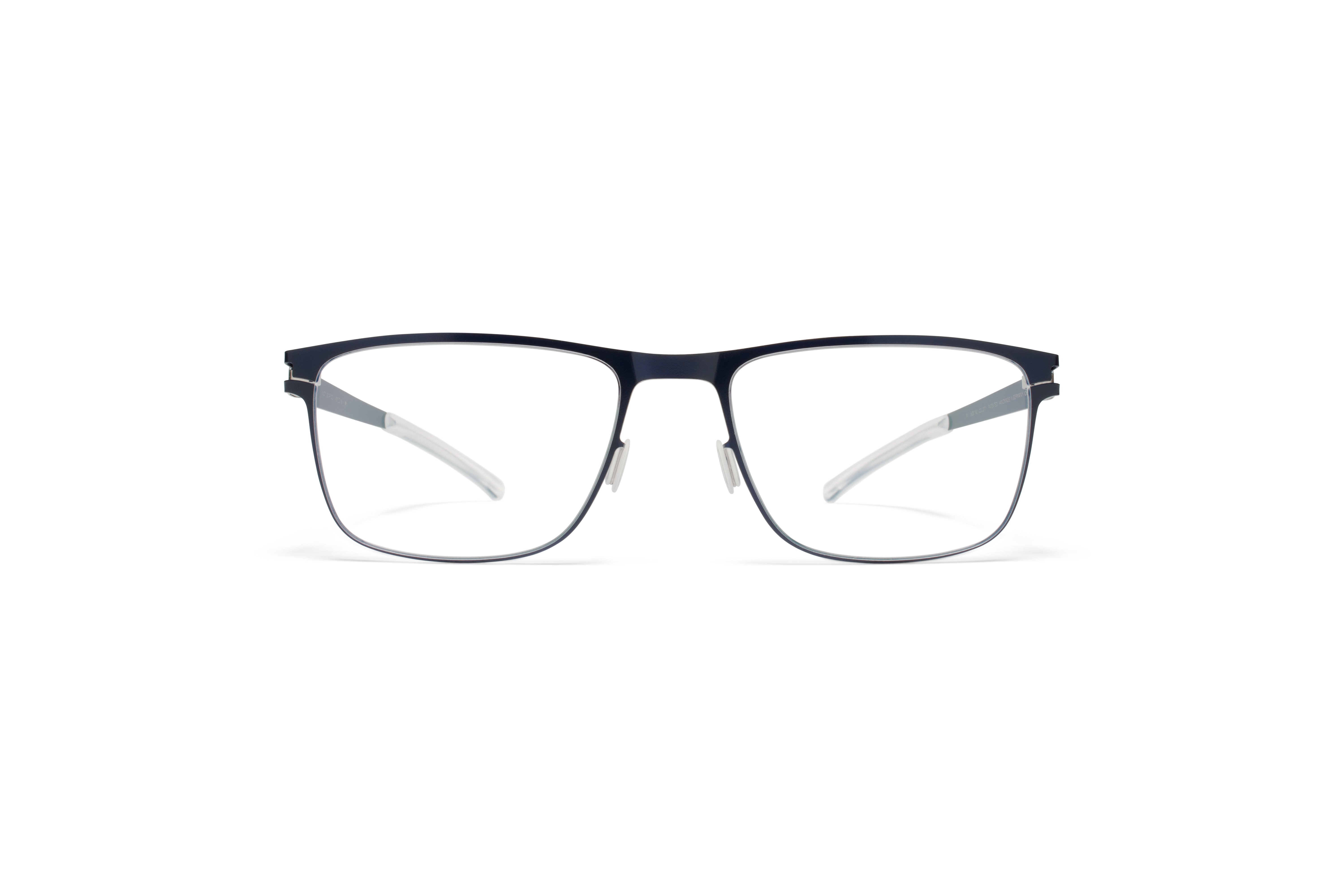 MYKITA No1 Rx Enrico Nightsky Silver Edges Clear