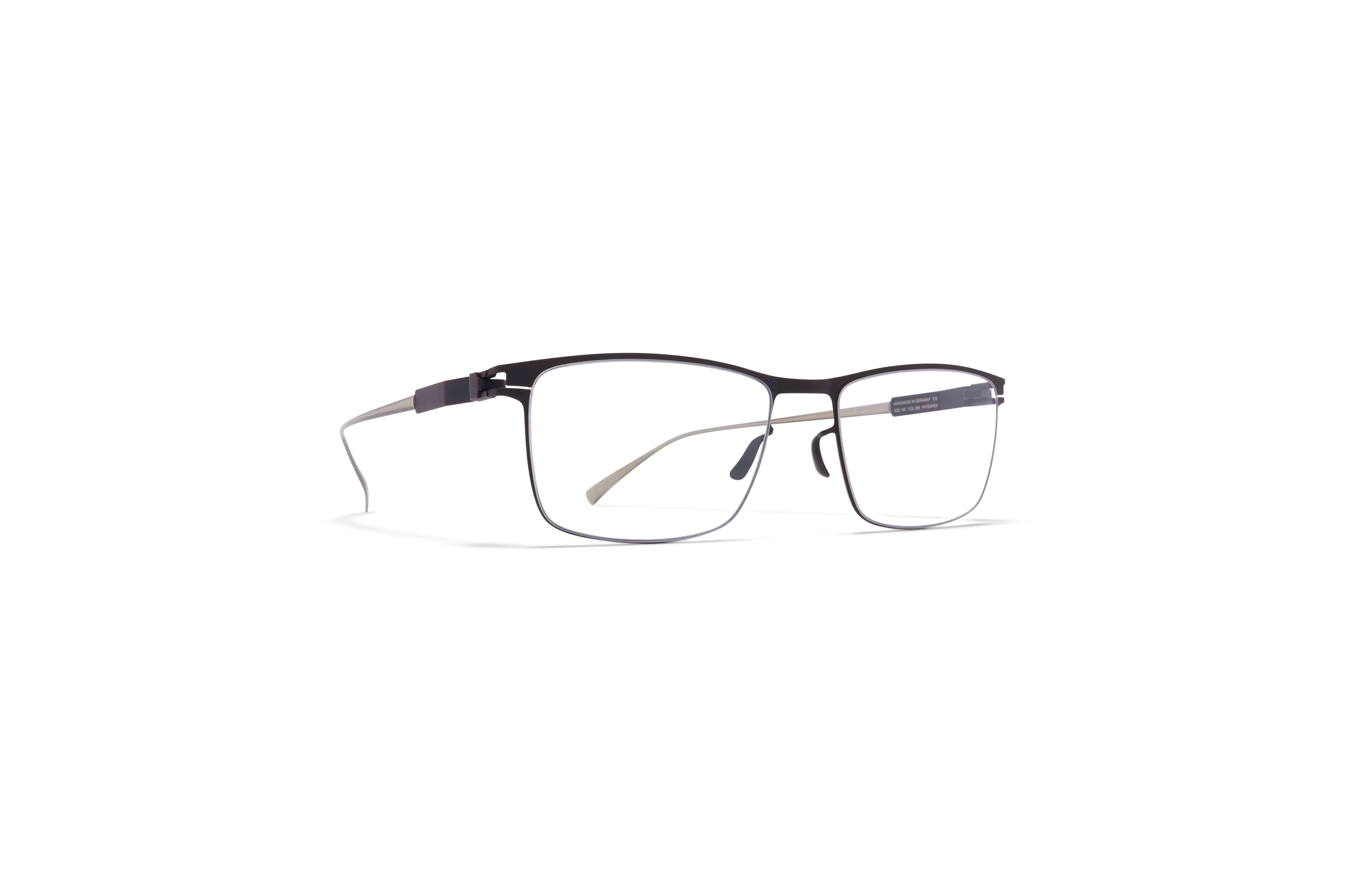 MYKITA No1 Rx Francesco Matte Black Clear