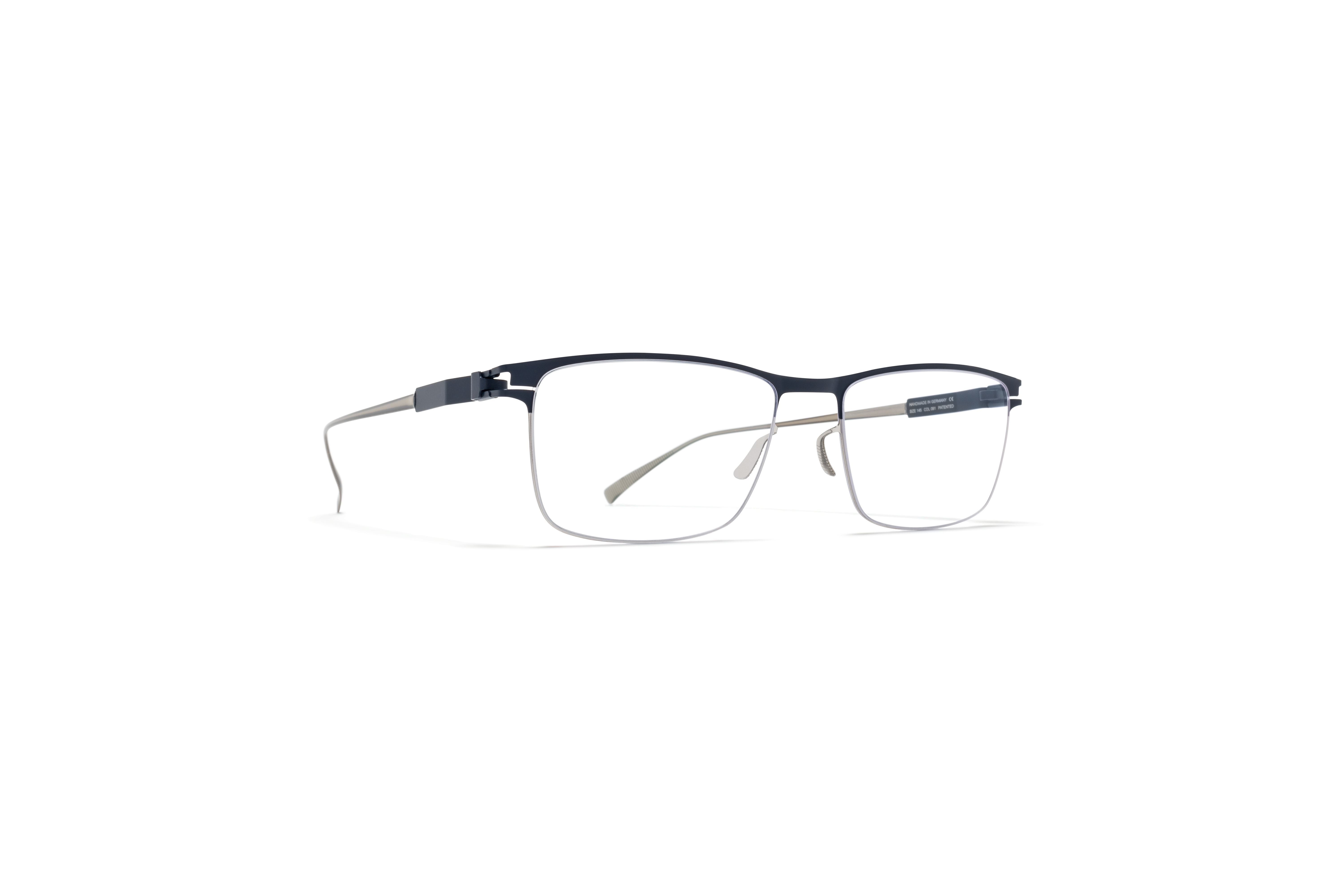MYKITA No1 Rx Francesco Silver Navy Clear