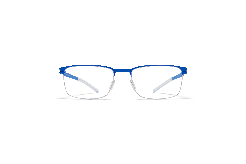 2d570937298 MYKITA No1 Rx Gerhard Shiny Silver Yale Blue Clear