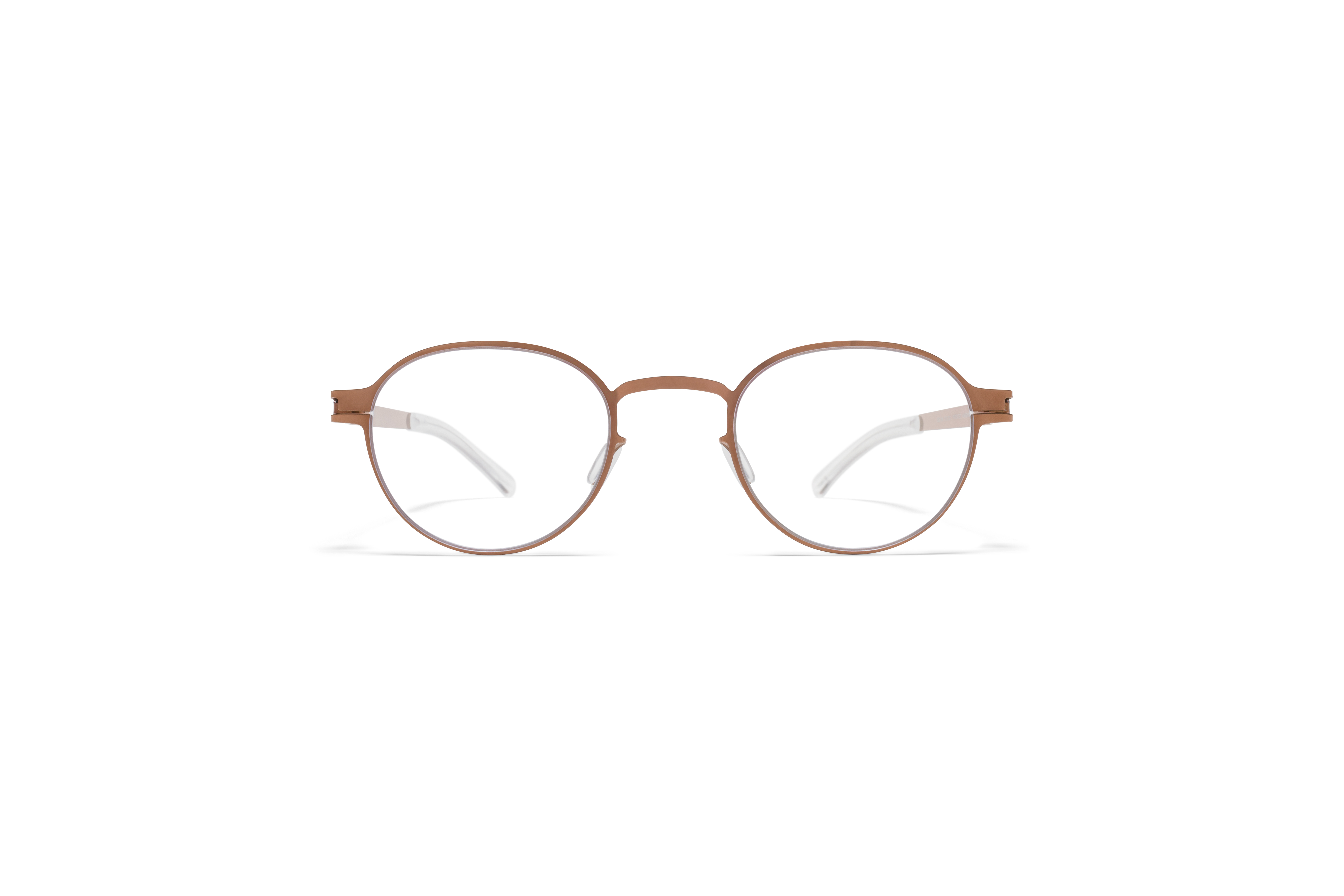 MYKITA No1 Rx Heiko Shiny Copper Clear