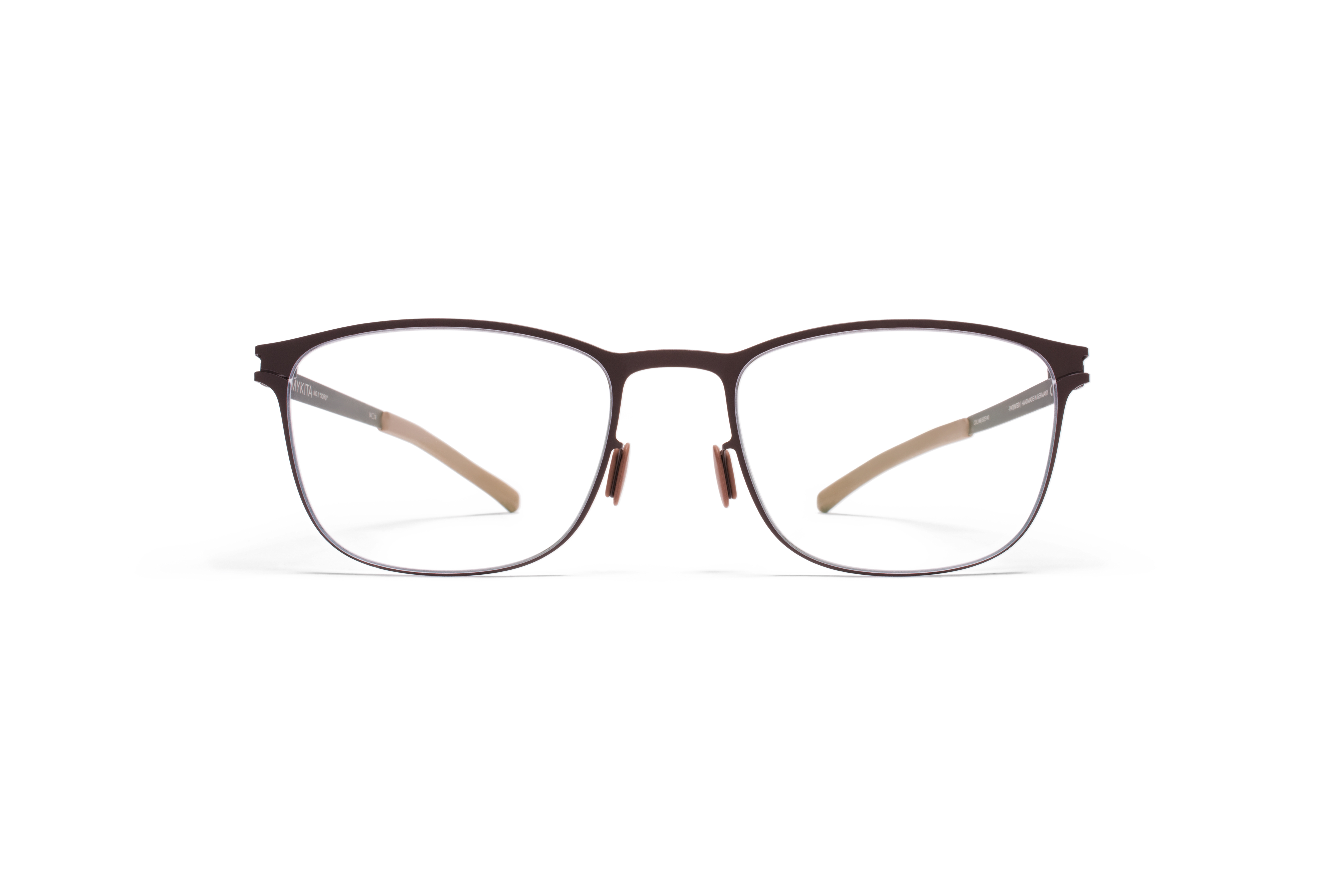 MYKITA No1 Rx Jorg Darkbrown Clear