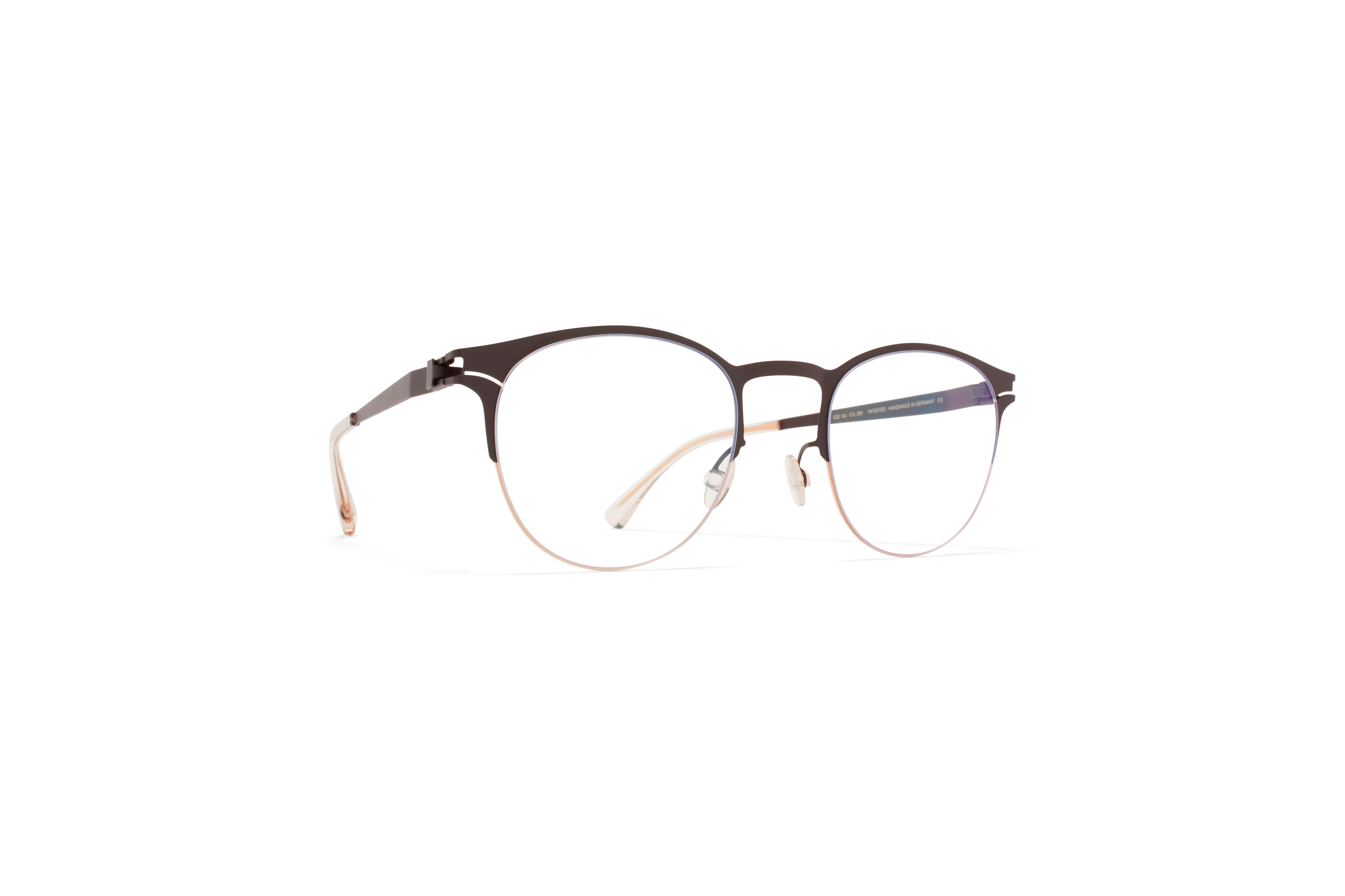 MYKITA No1 Rx Jude Champagne Gold Dark Brown