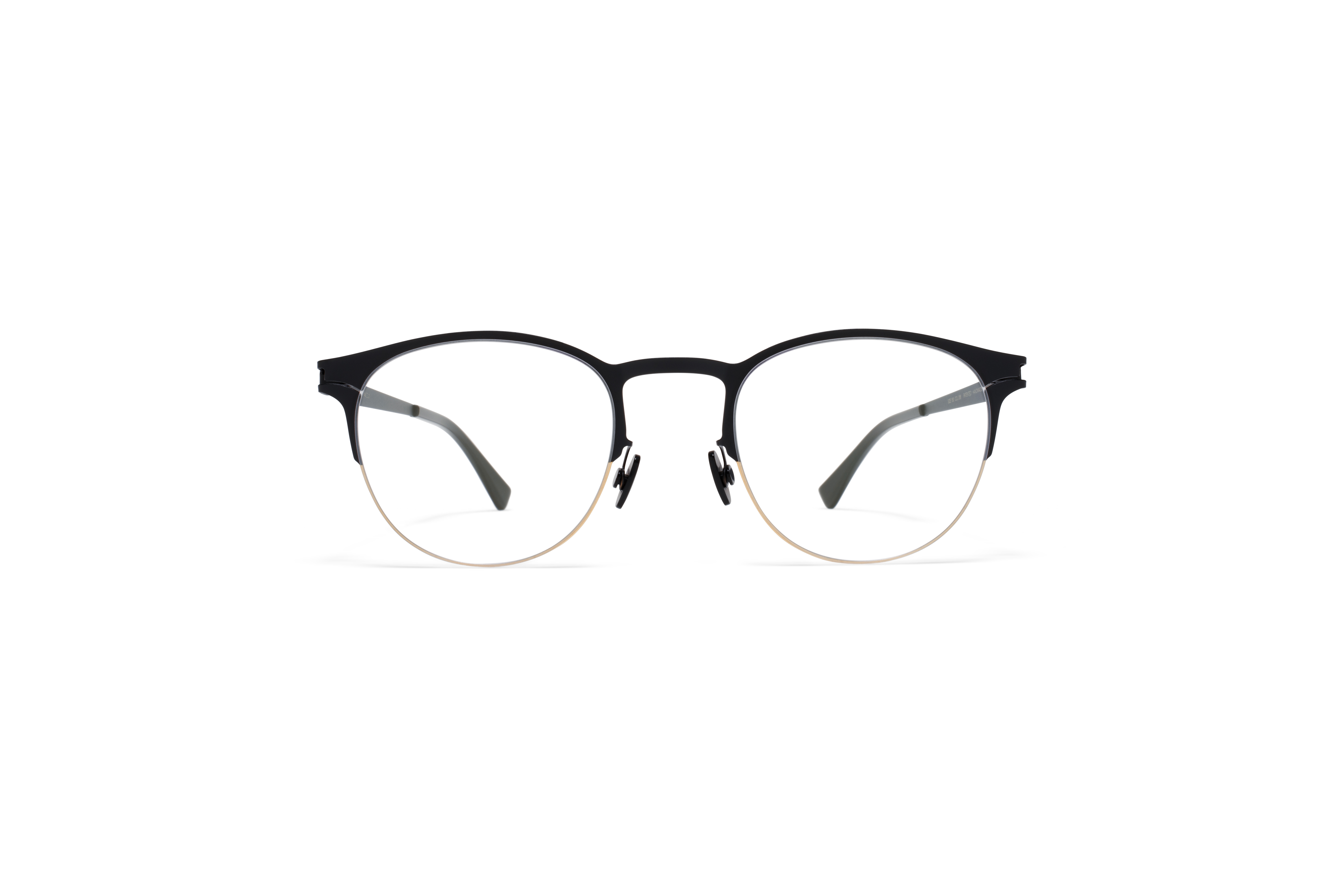 MYKITA No1 Rx Jude Gold Black Clear Jp