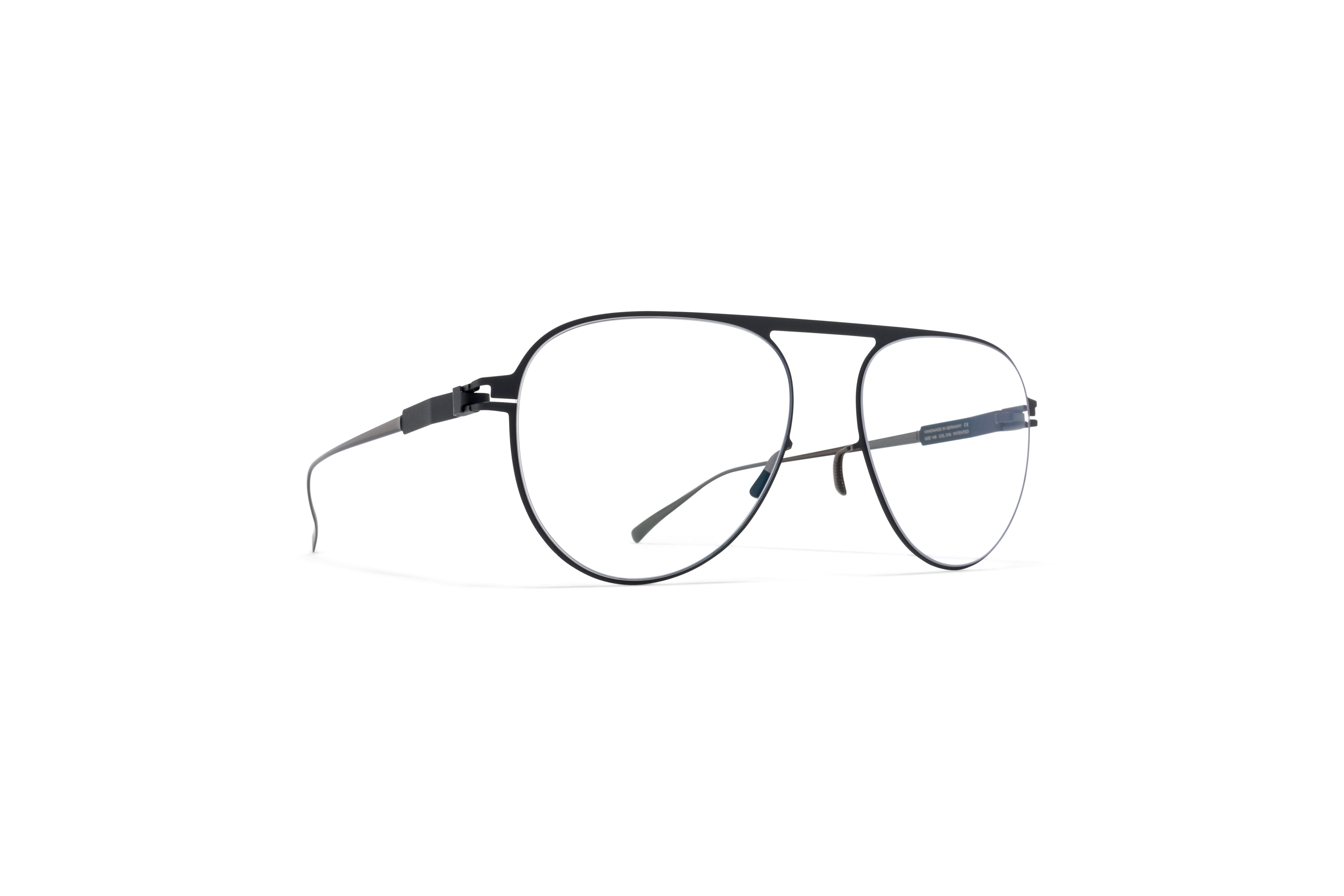 MYKITA No1 Rx Kent Shiny Graphite Nearly Black Cle59f9dcc9ed8df