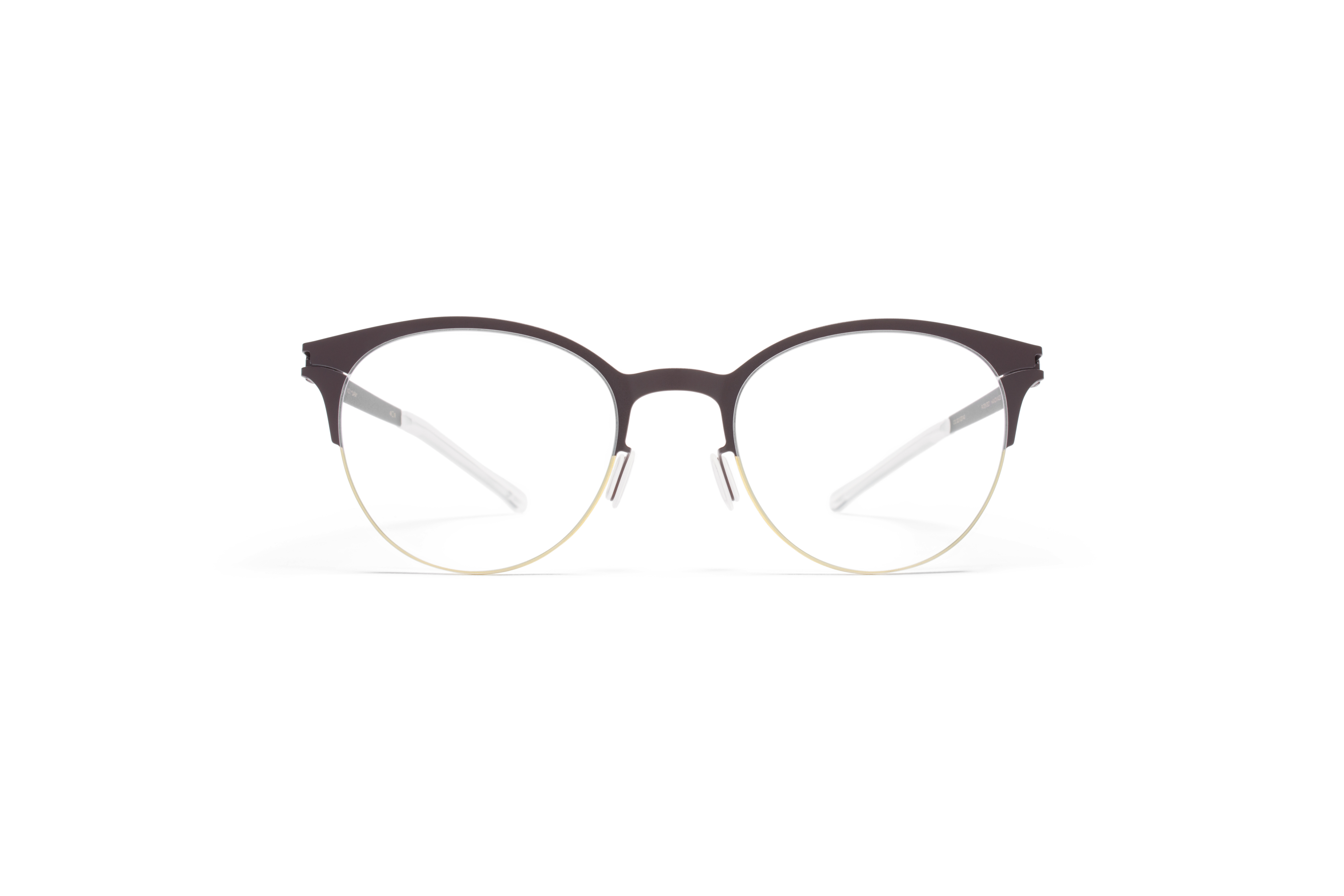 MYKITA No1 Rx Lara Gold Darkbrown Clear P562aafa74cb9a