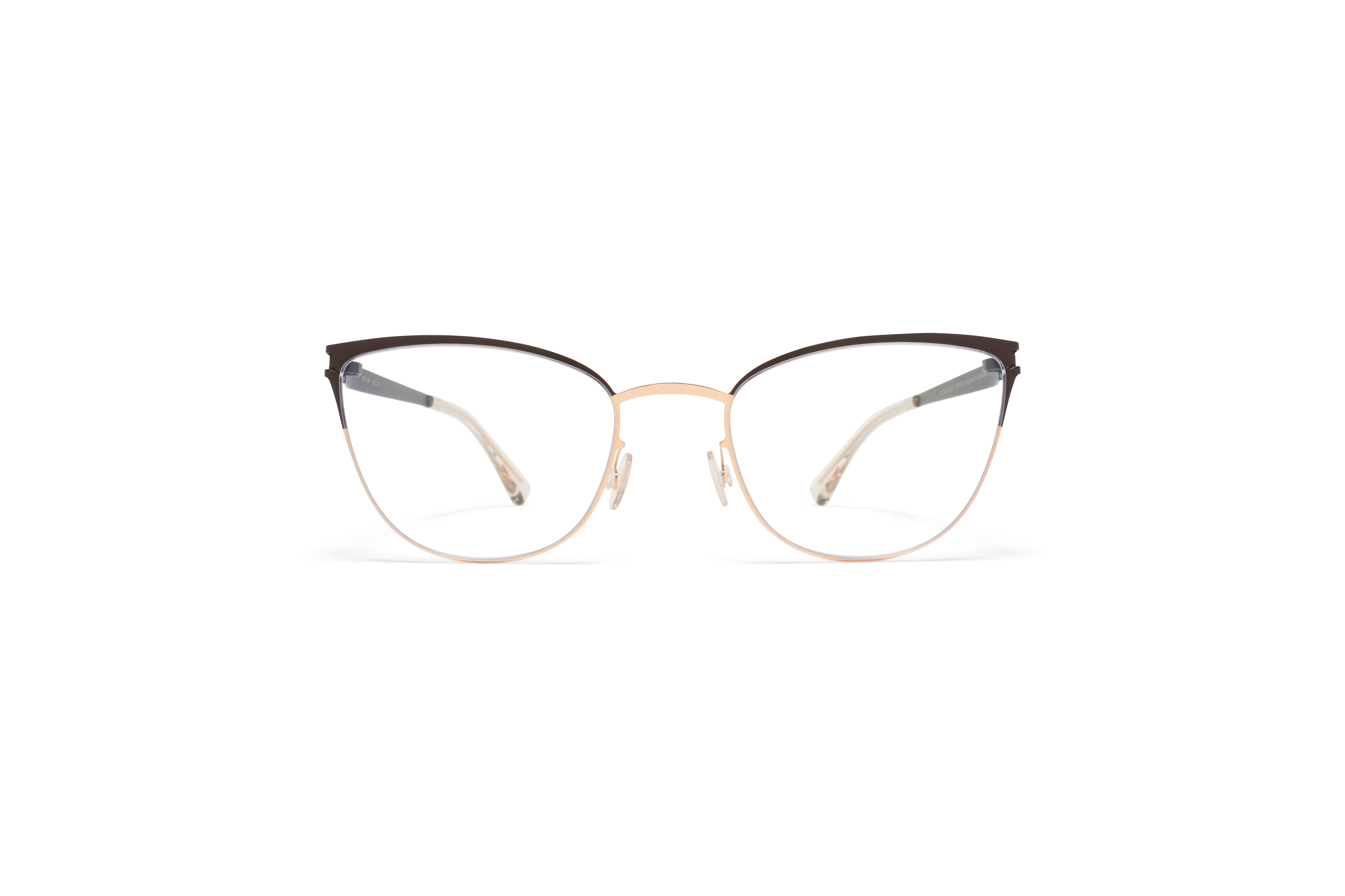 MYKITA No1 Rx Lea Champagne Gold Dark Brown