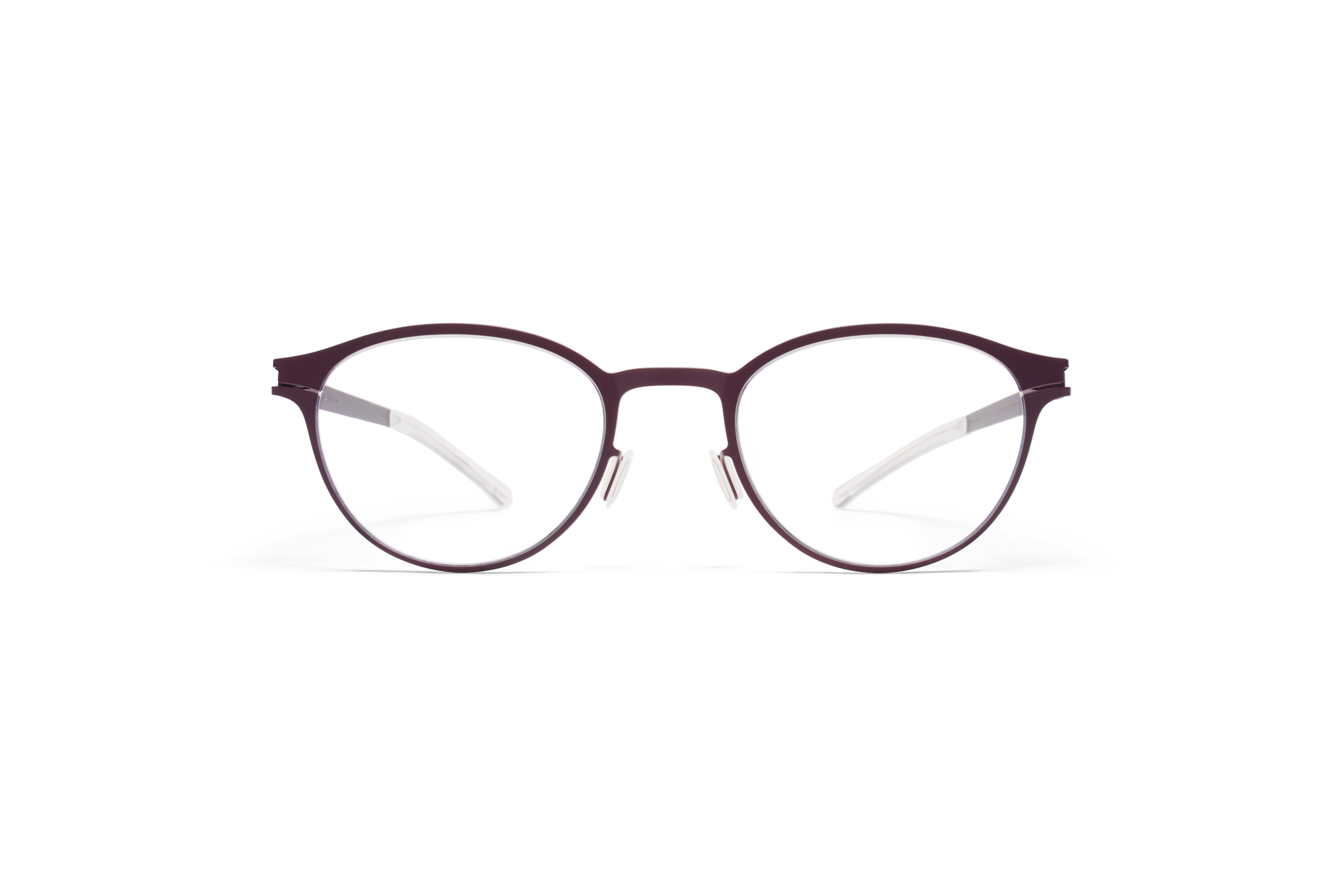 MYKITA No1 Rx Lindsey Plum Clear