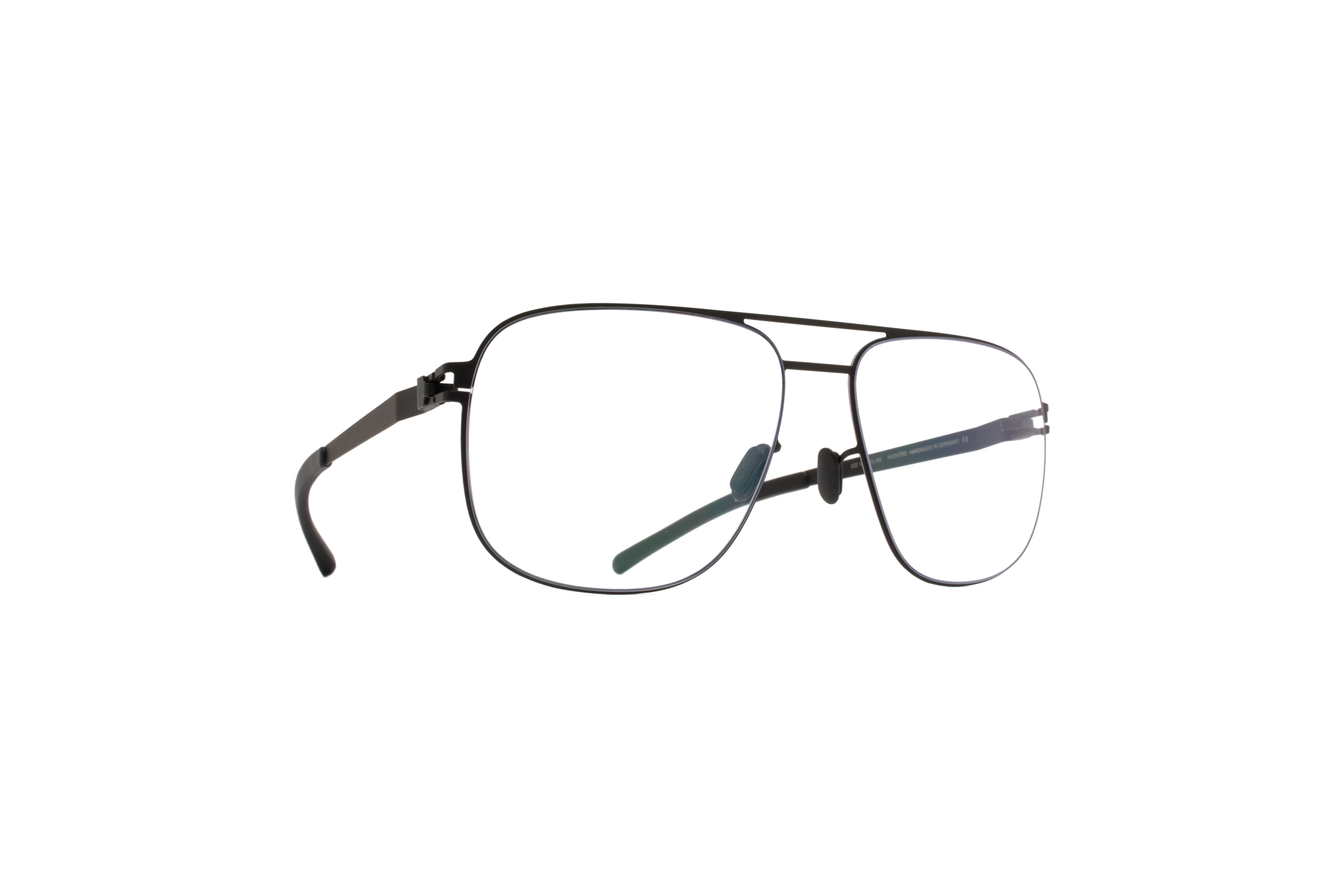 MYKITA No1 Rx Louis Black Clear