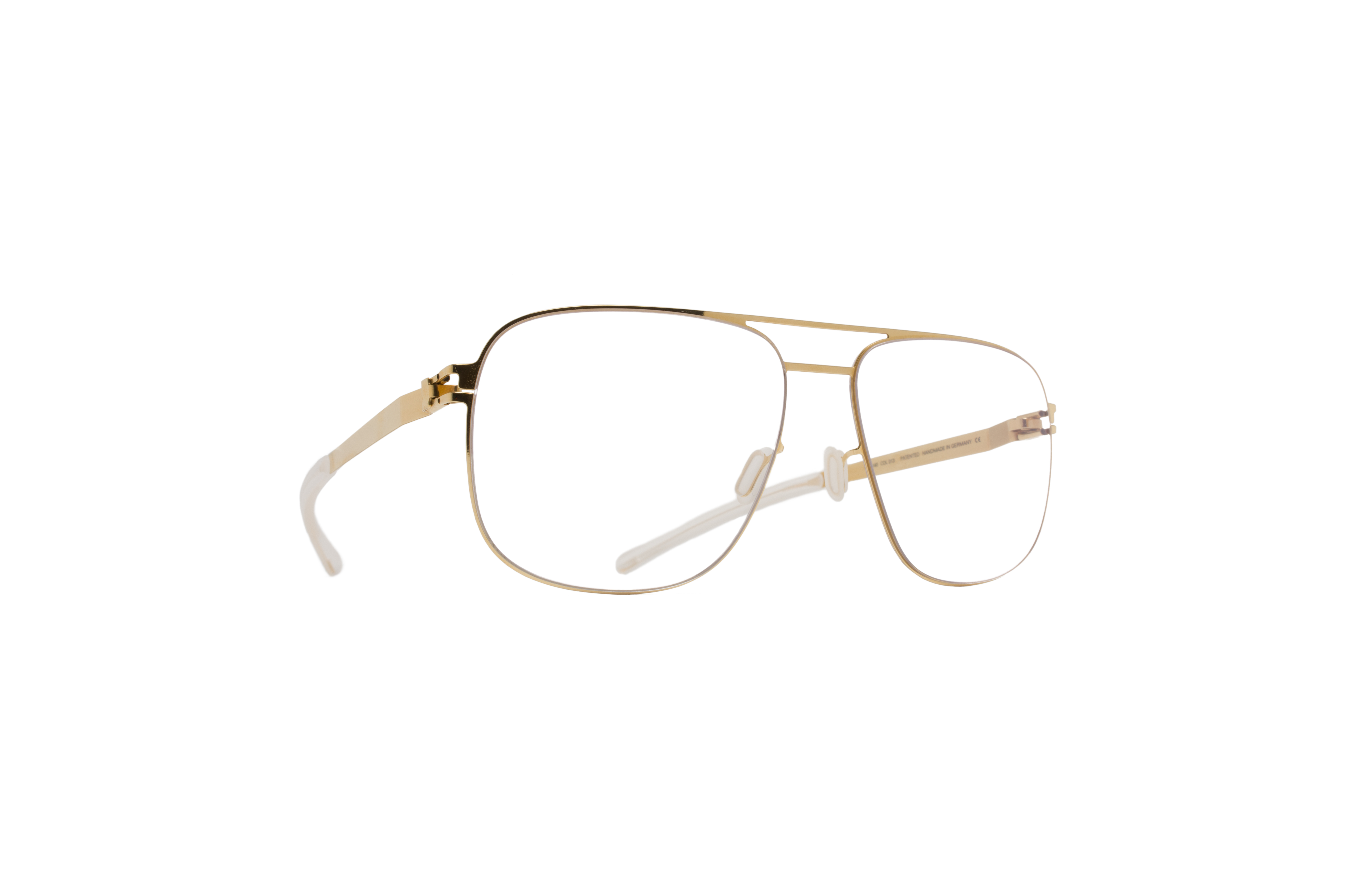 MYKITA No1 Rx Louis Glossygold Clear J5723550ecfabc