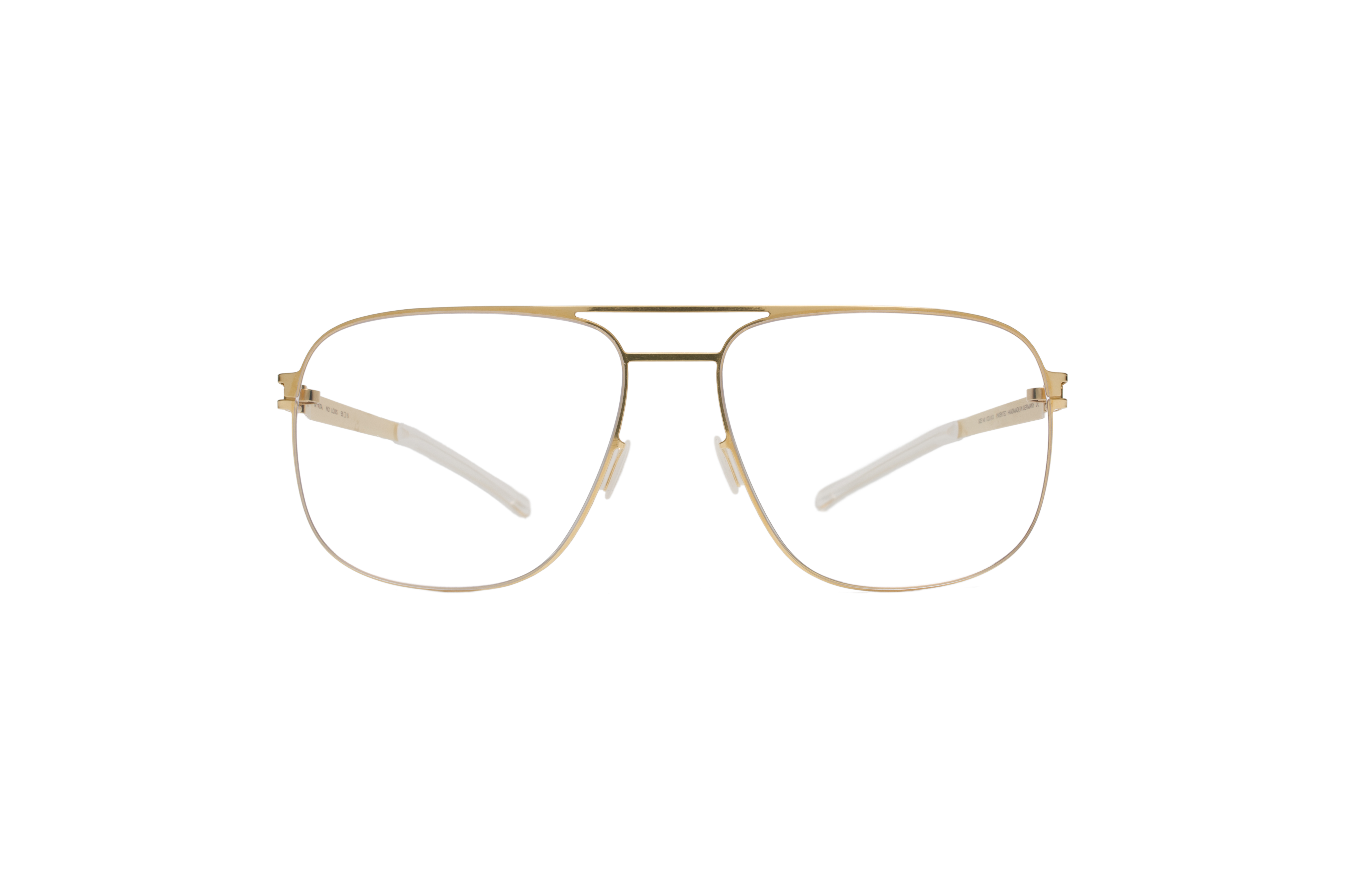 MYKITA No1 Rx Louis Glossygold Clear J572355cc54a38