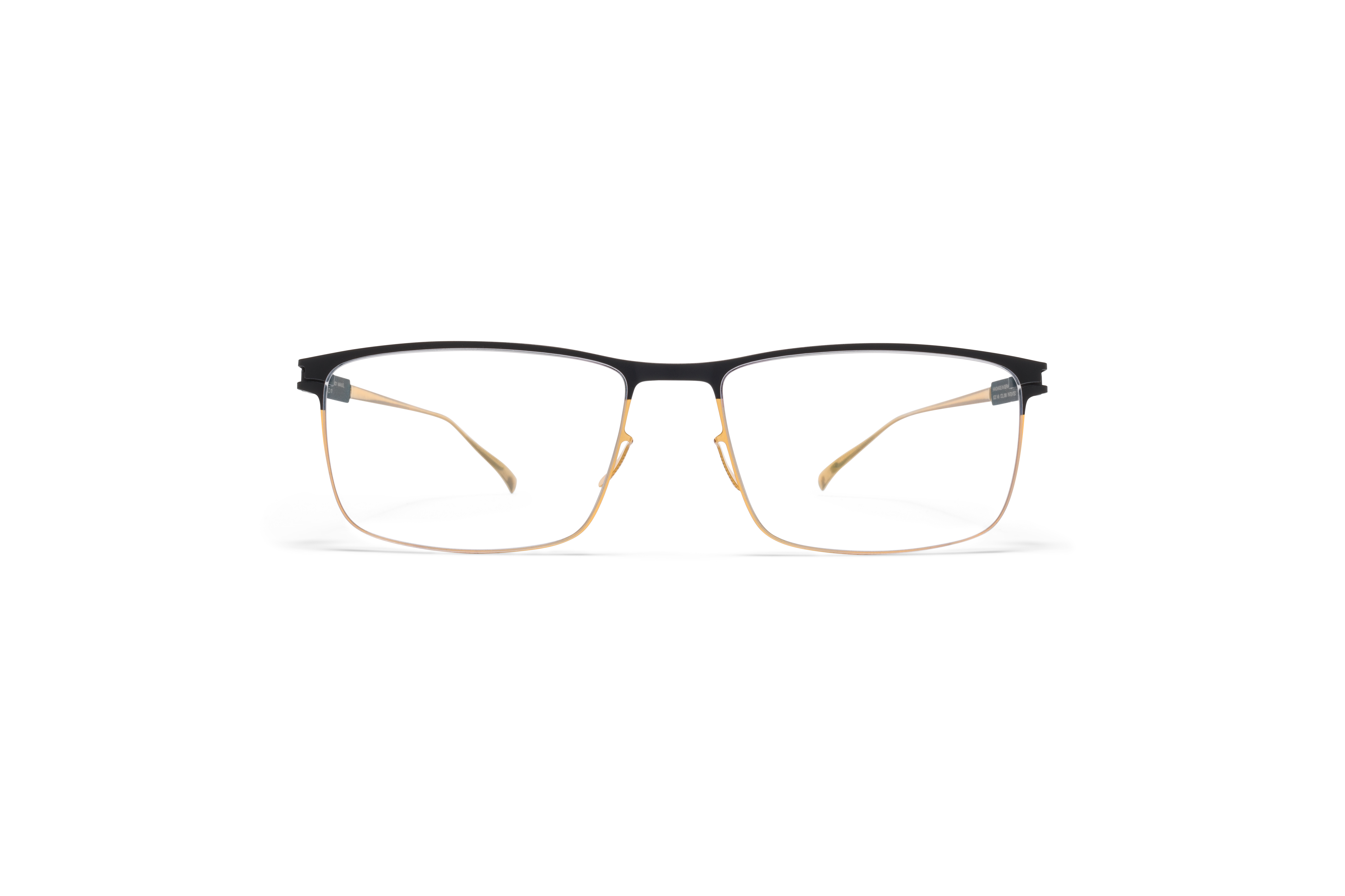 MYKITA No1 Rx Manuel Gold Black Clear